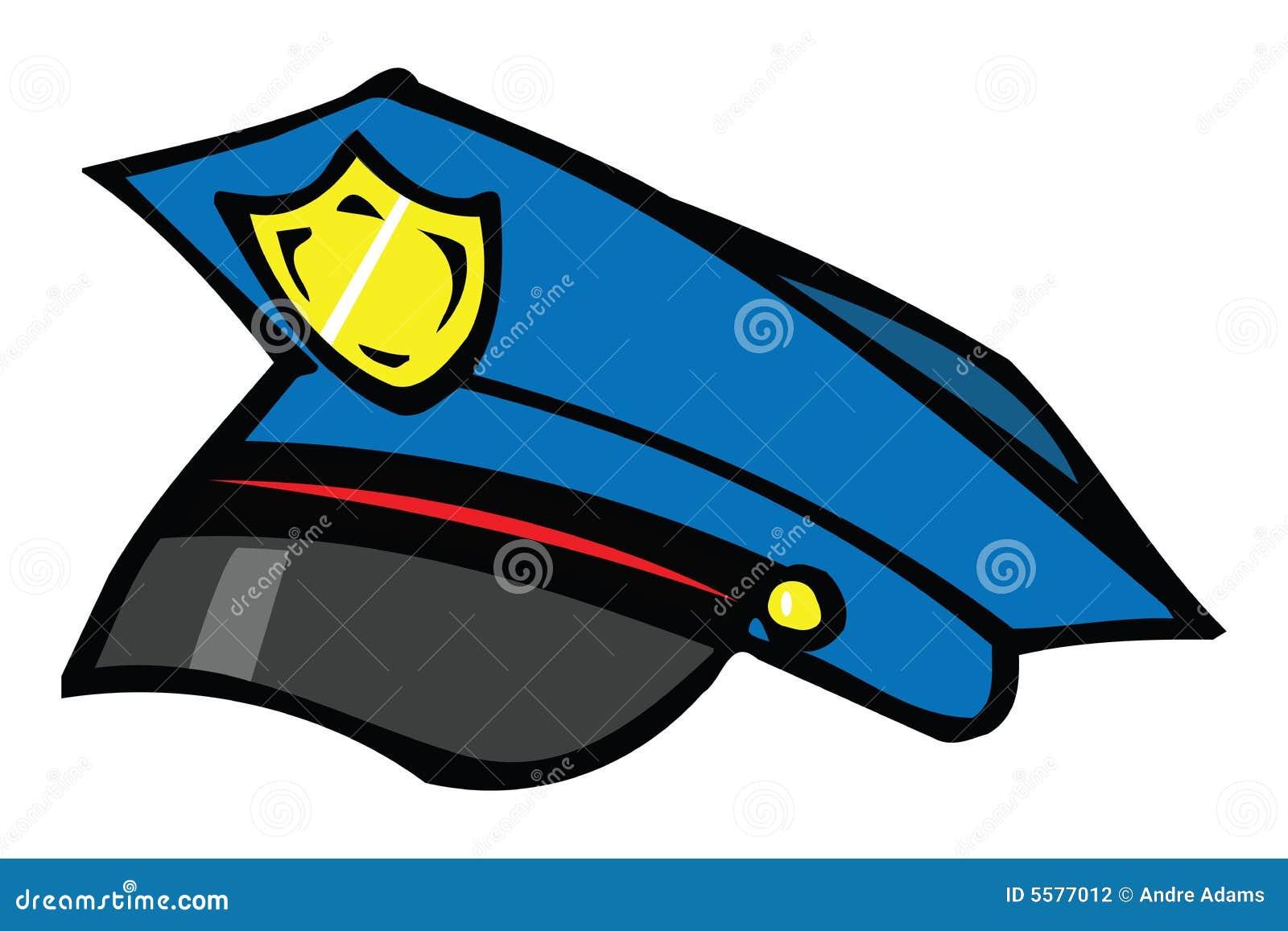 Police Cap Stock Illustration. Illustration Of Officer