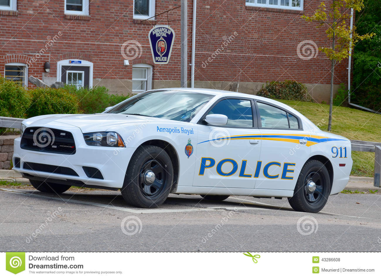 police car editorial stock photo image 43286608. Black Bedroom Furniture Sets. Home Design Ideas