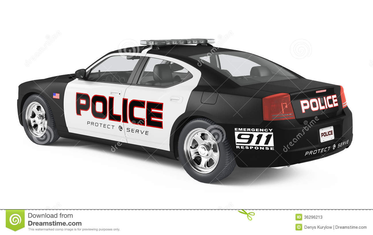 police car back sport and modern style stock. Black Bedroom Furniture Sets. Home Design Ideas