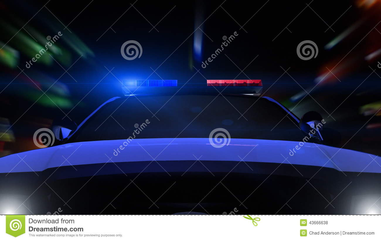 Police Car Driving Front POV Stock Footage Video of motorcar