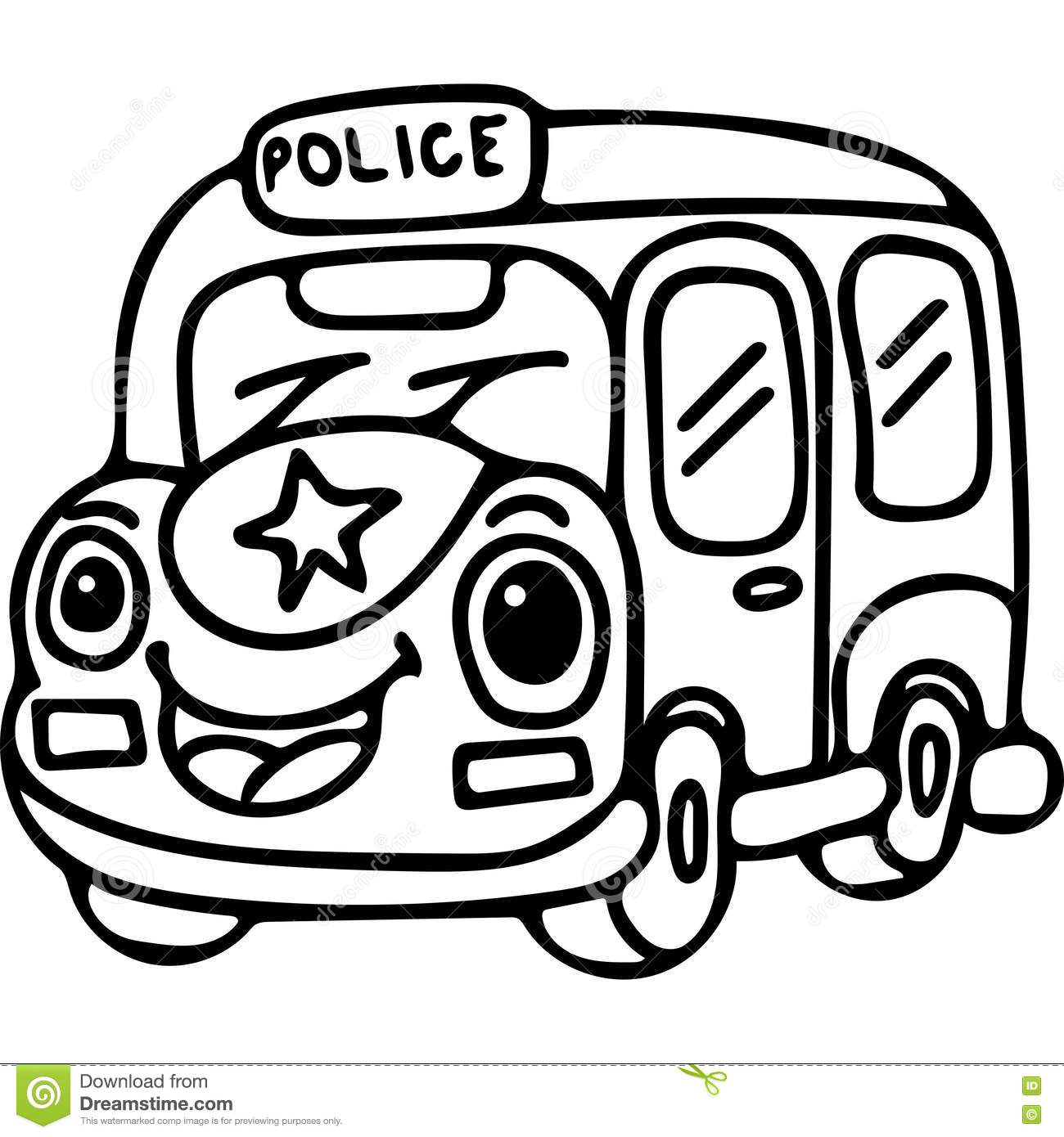 coloring pages police car virtren com