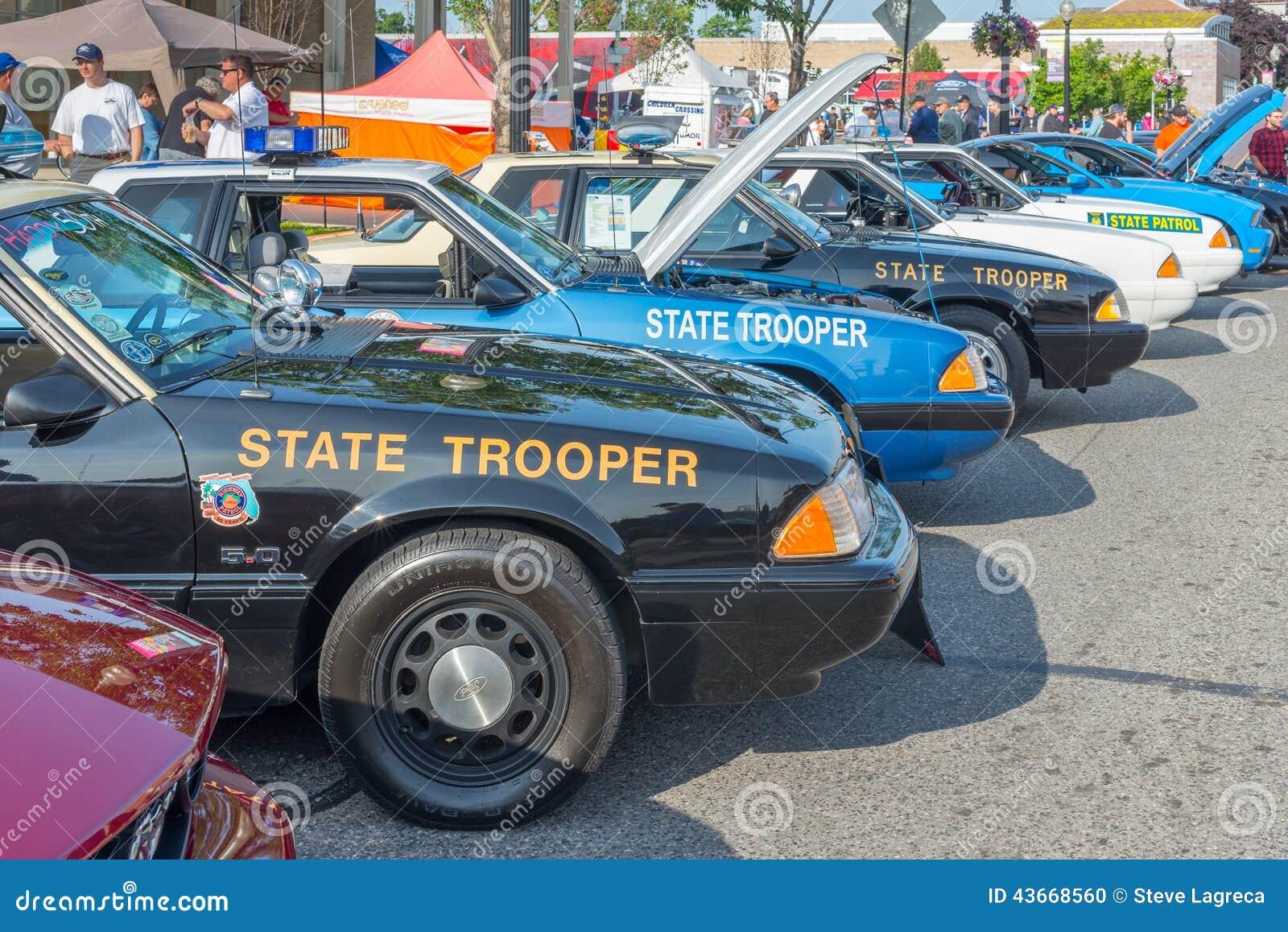Police Cars Emergency Vehicle Show Woodward Dream Cruise