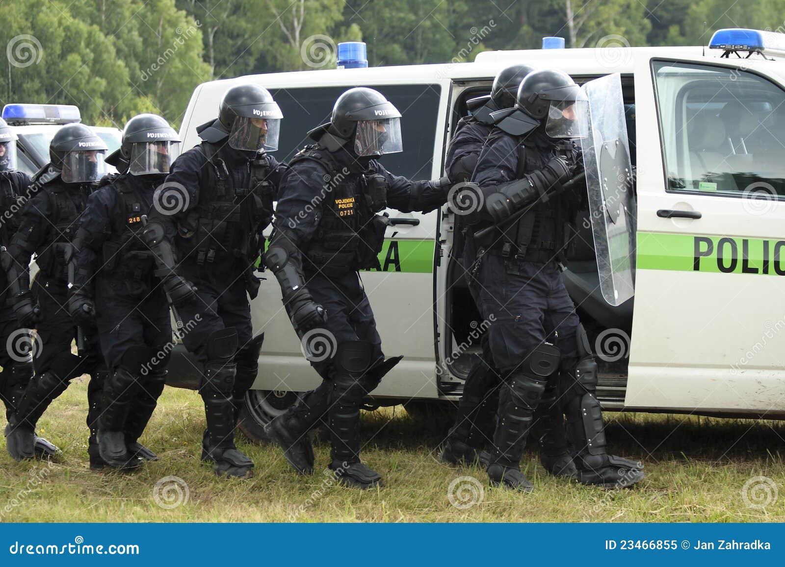 Police Commando Editorial Image Image 23466855