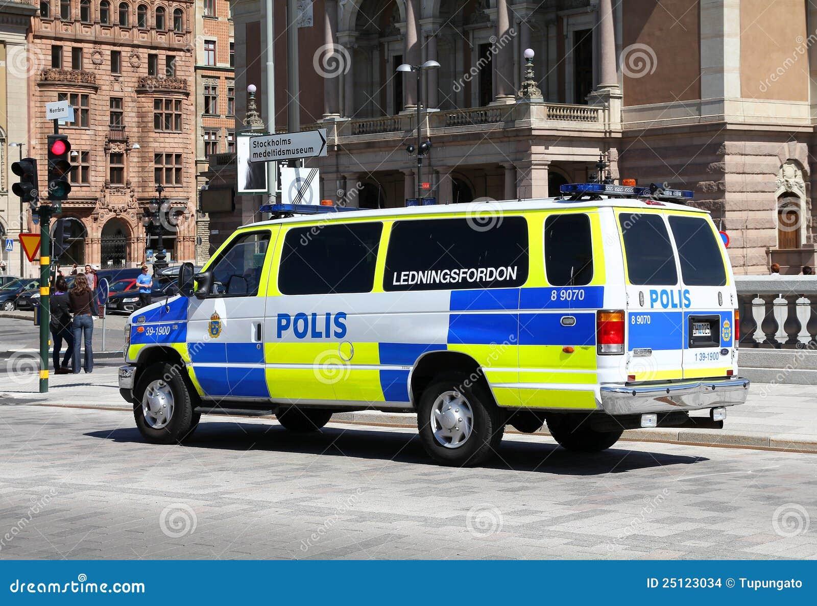 Police en Suède