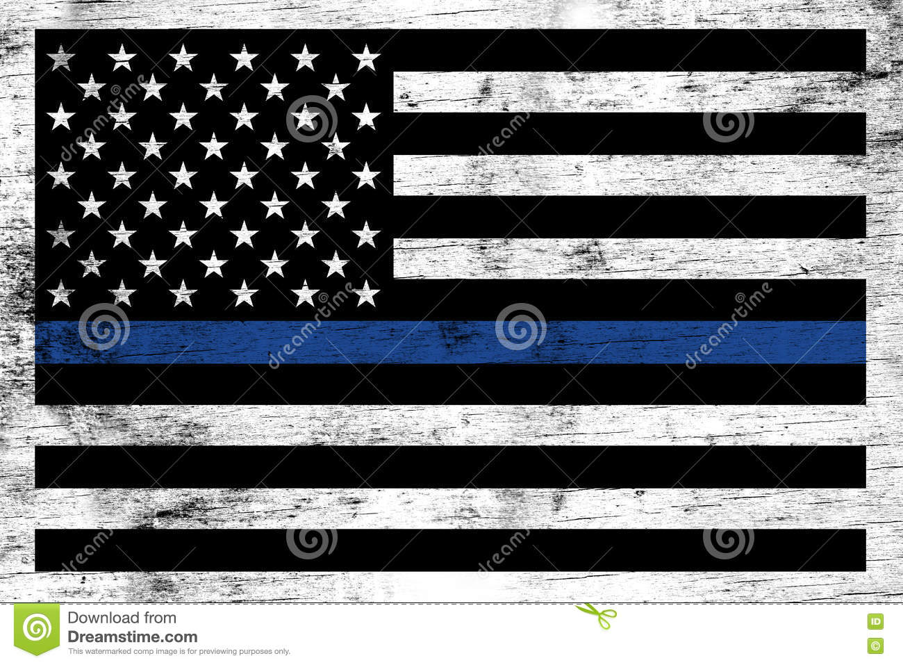 police law enforcement support flag background stock photo image