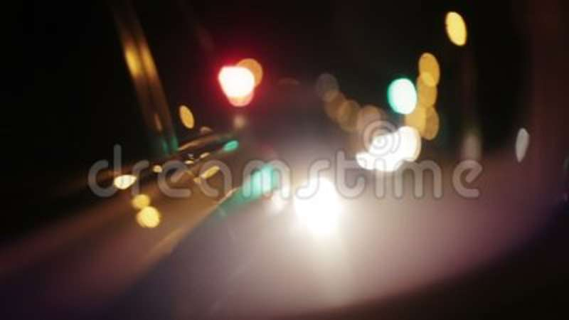 Police Lights Flashing In Side View Mirror Of Car Stock Footage   Video Of  Chase, Night: 109684112