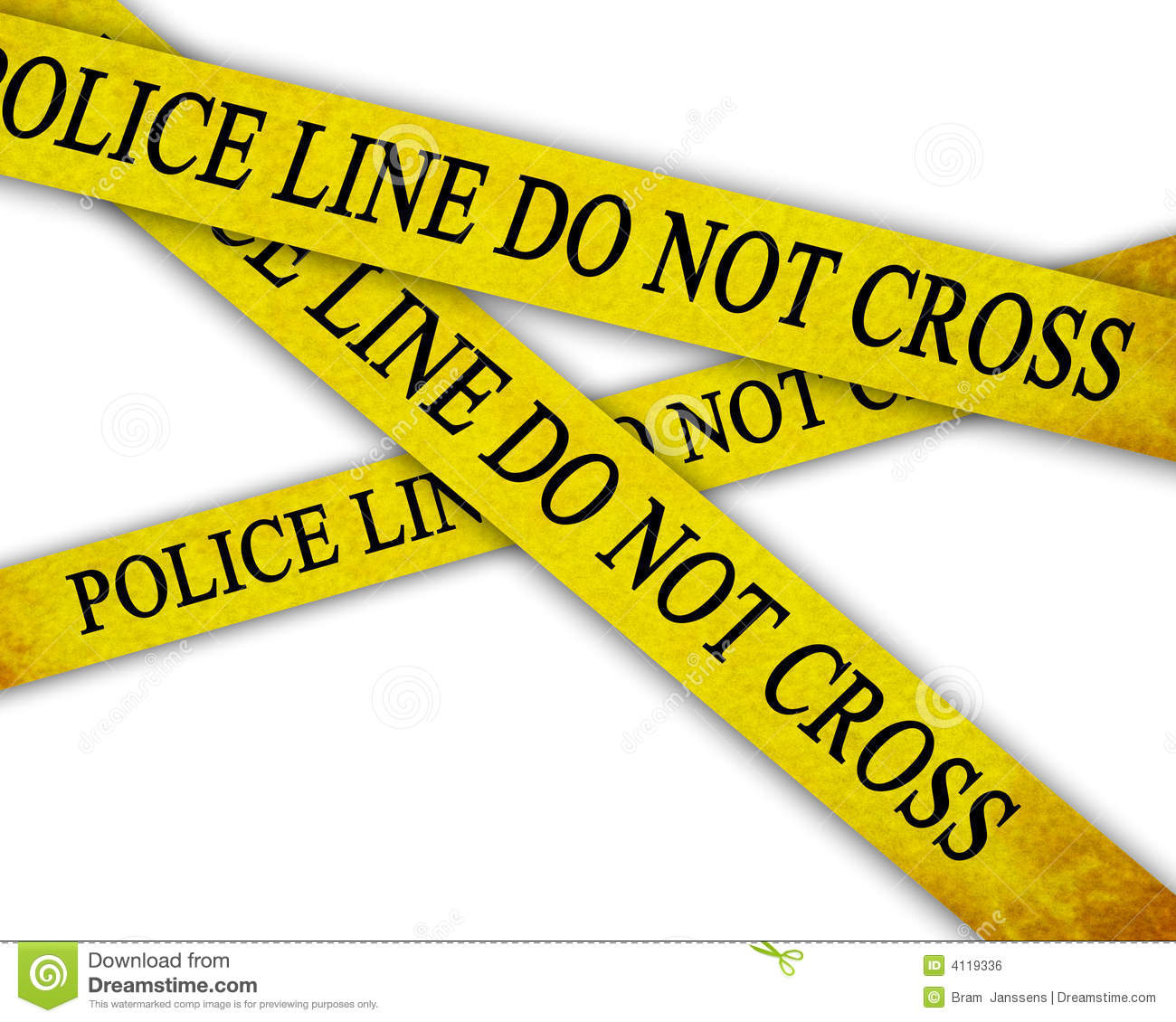 Police line royalty free stock image image 4119336