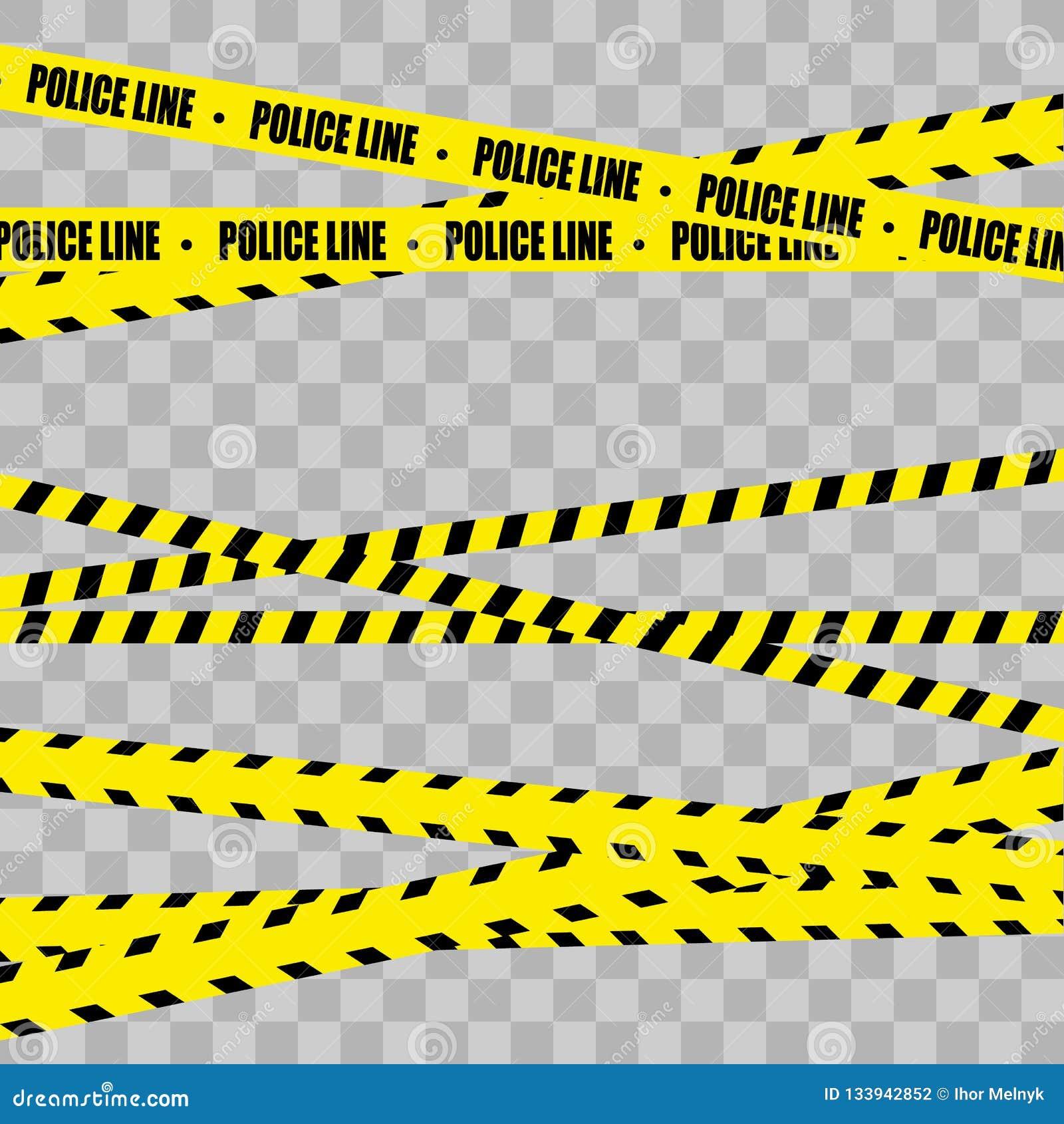Police Line Set. Danger.