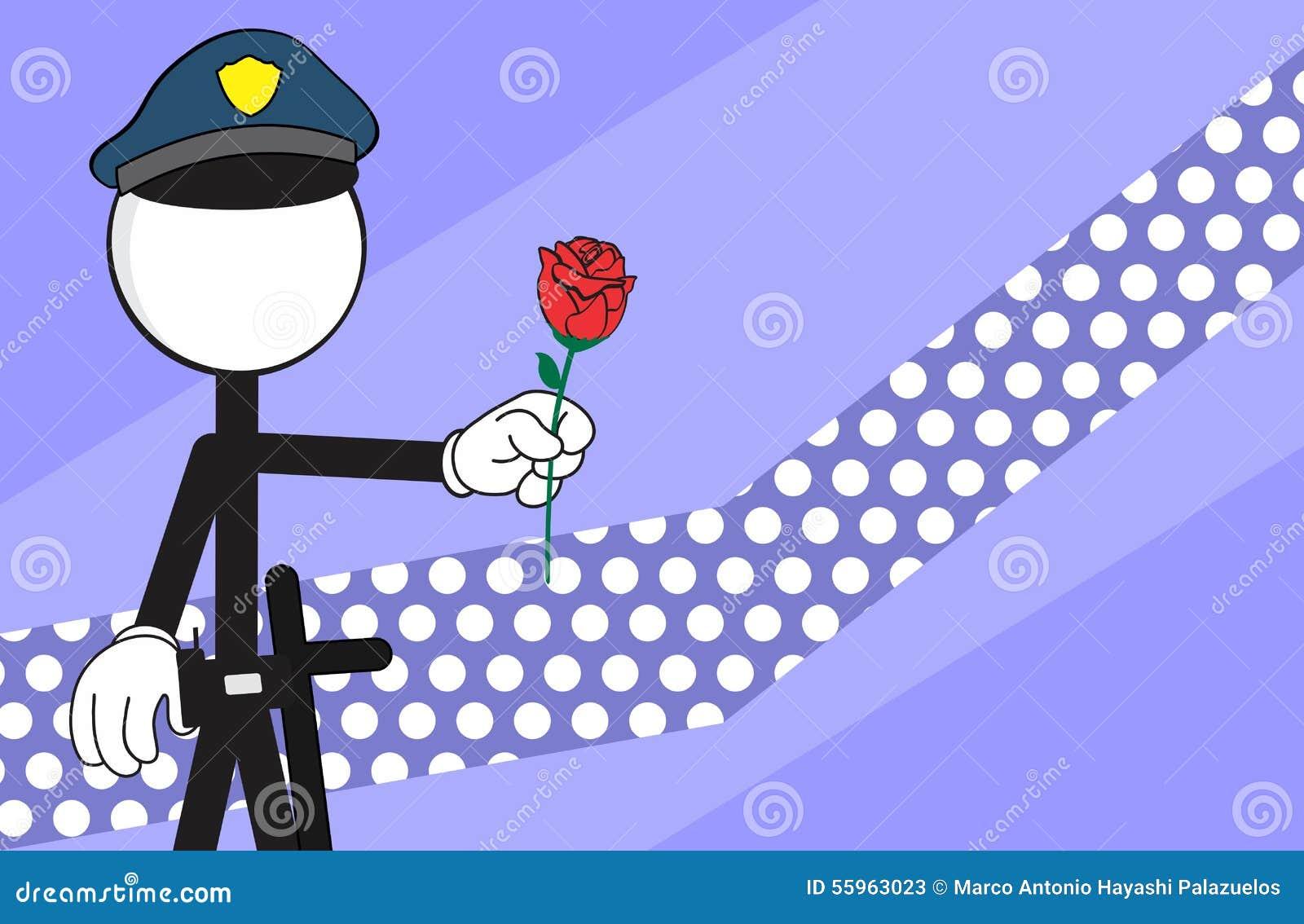 Purple Cartoon Rose cartoon background rose