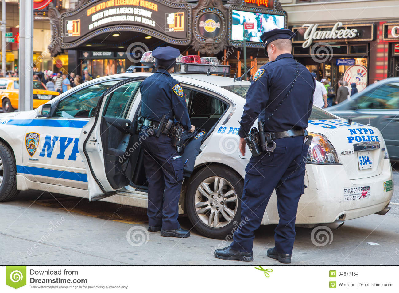 Police NEW YORK Editorial Stock Image - Image: 34877154
