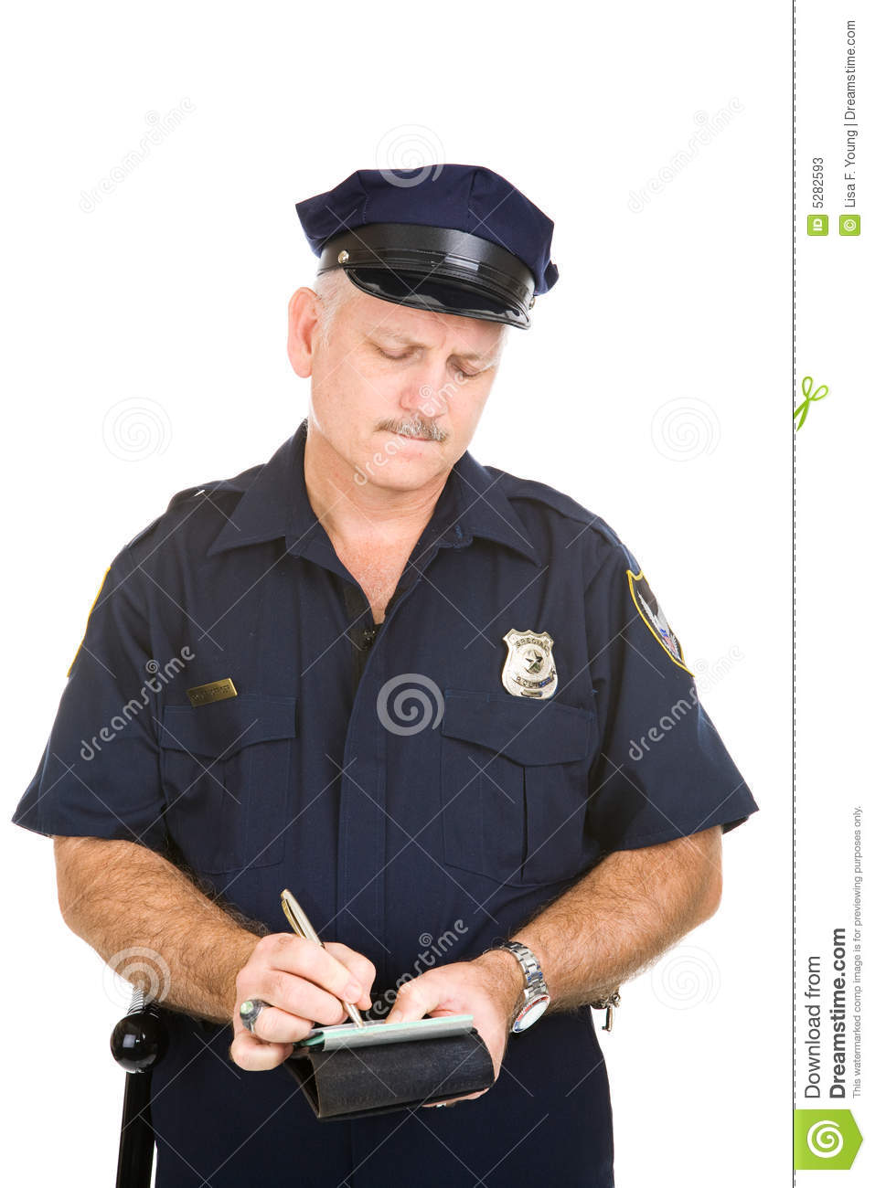 Police Officer - Parking Ticket