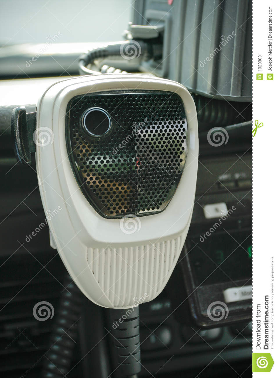 Police Radio Mic >> Police Radio Mic In Car Stock Image Image Of Armed Felony 10203091
