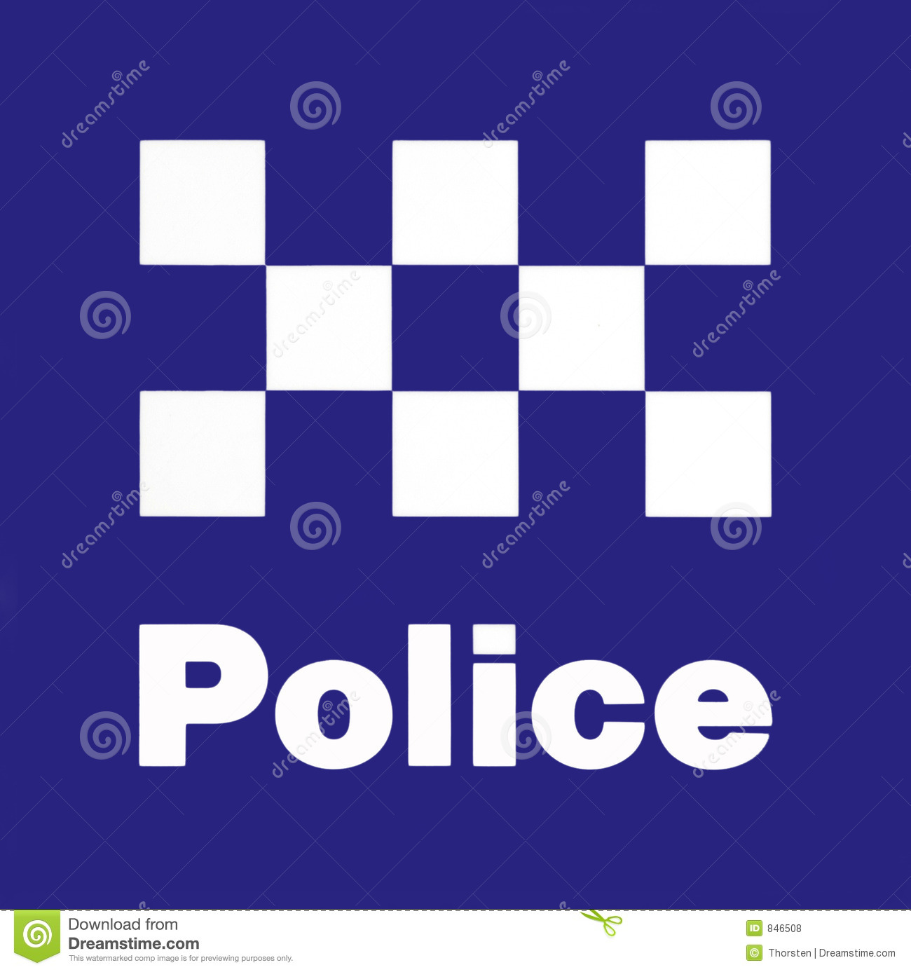 Police Station Sign Royalty Free Stock Photos - Image: 846508