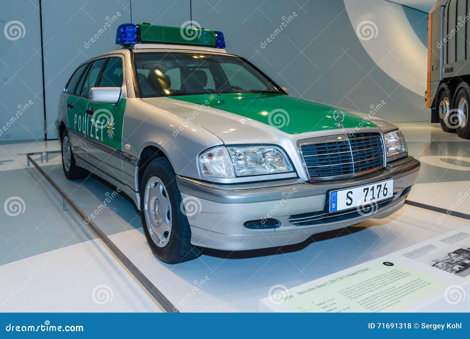 MERCEDES-BENZ 220 S polizia Amburgo