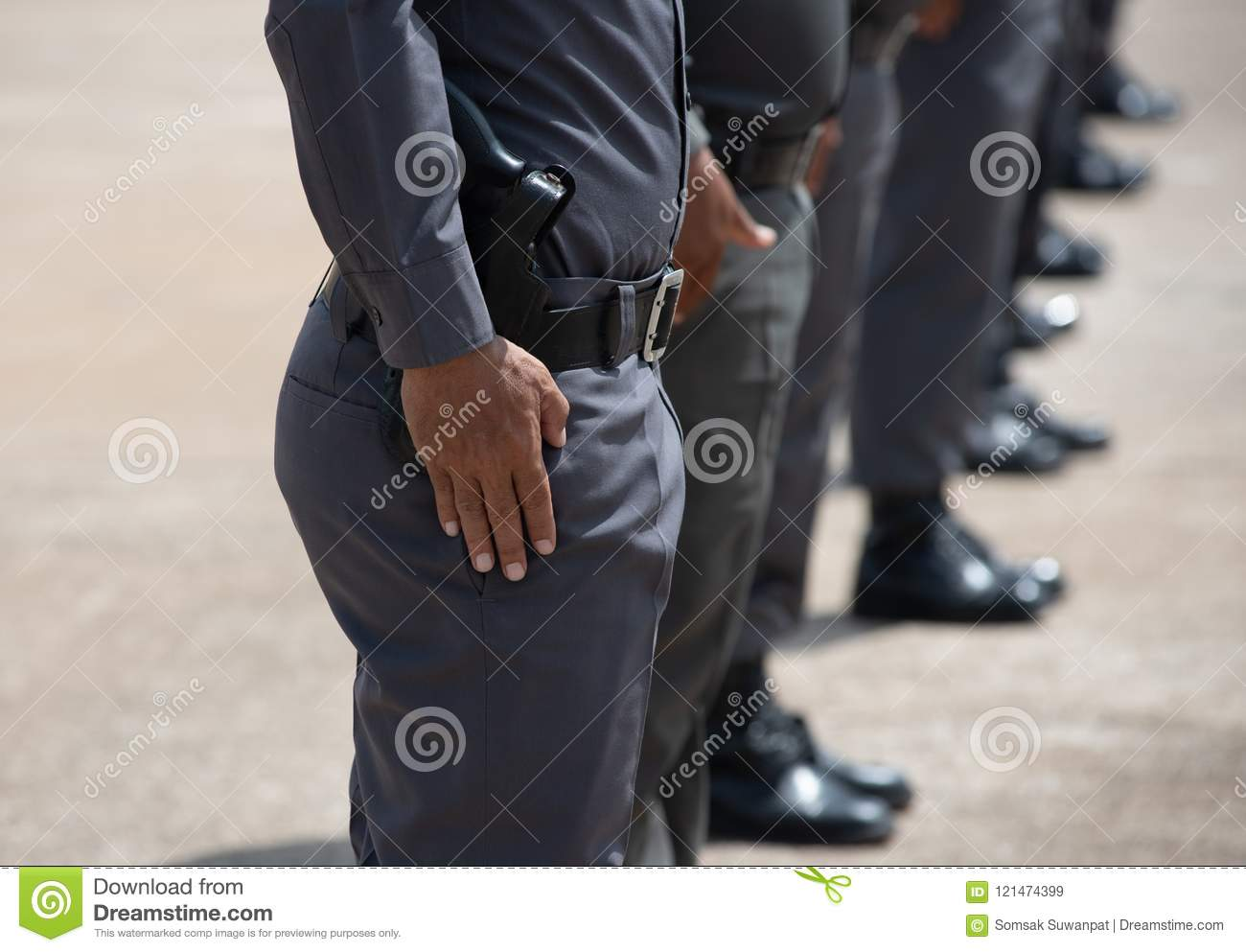 Police Tactical Firearms Training Stock Image - Image of practicing