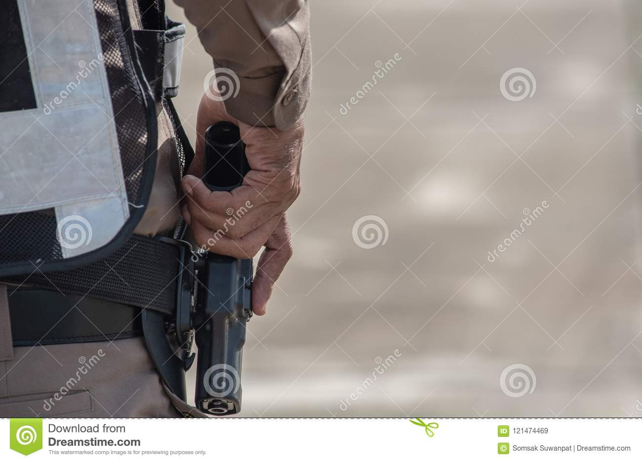Police Tactical Firearms Training Stock Image - Image of academy