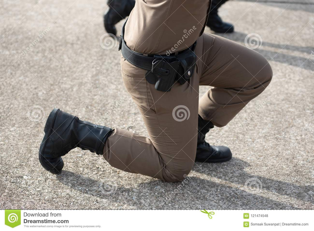 Police Tactical Firearms Training Stock Photo - Image of outdoor