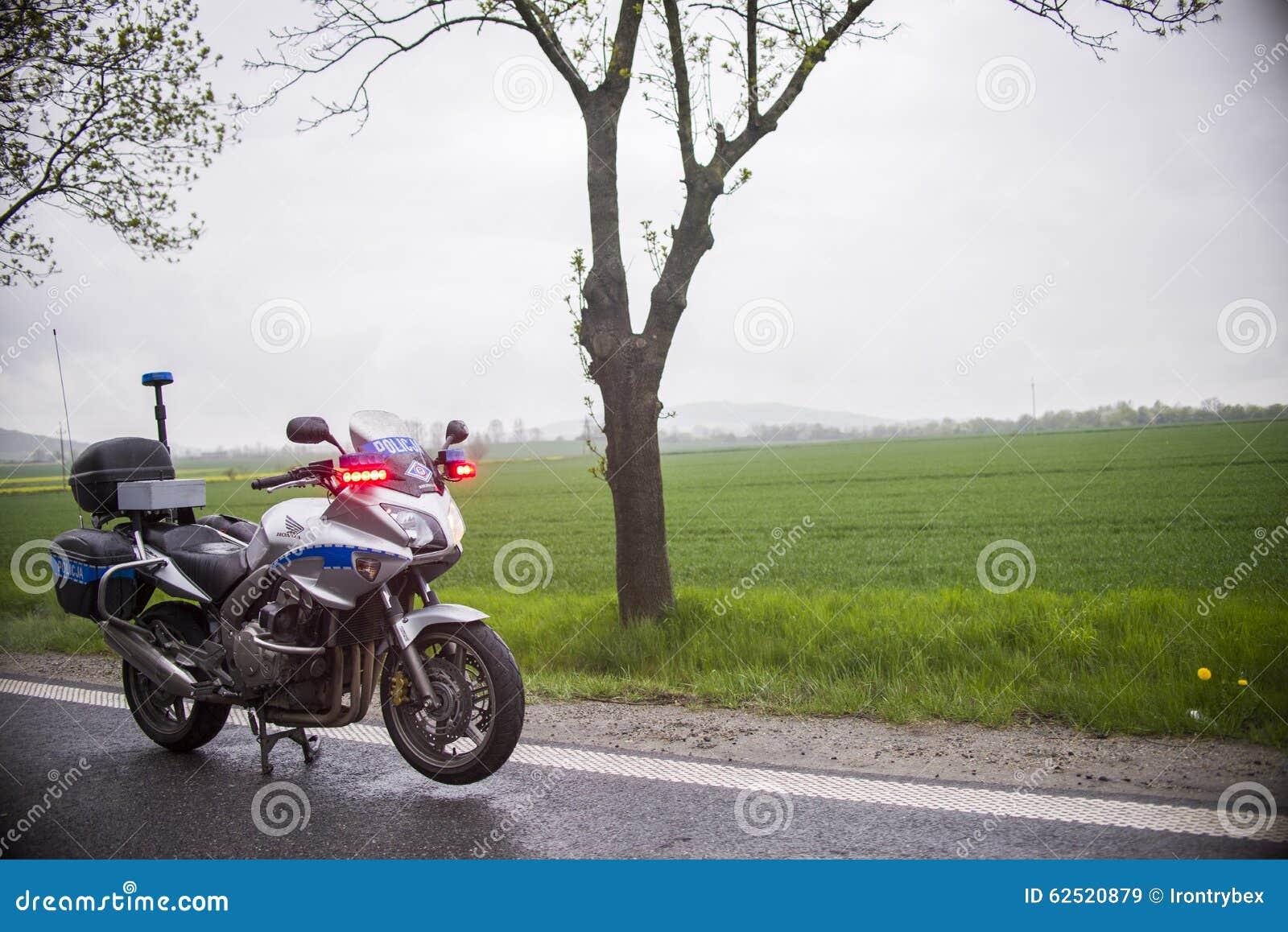 Police Used Honda Motorcycles In Motorway Crash Site