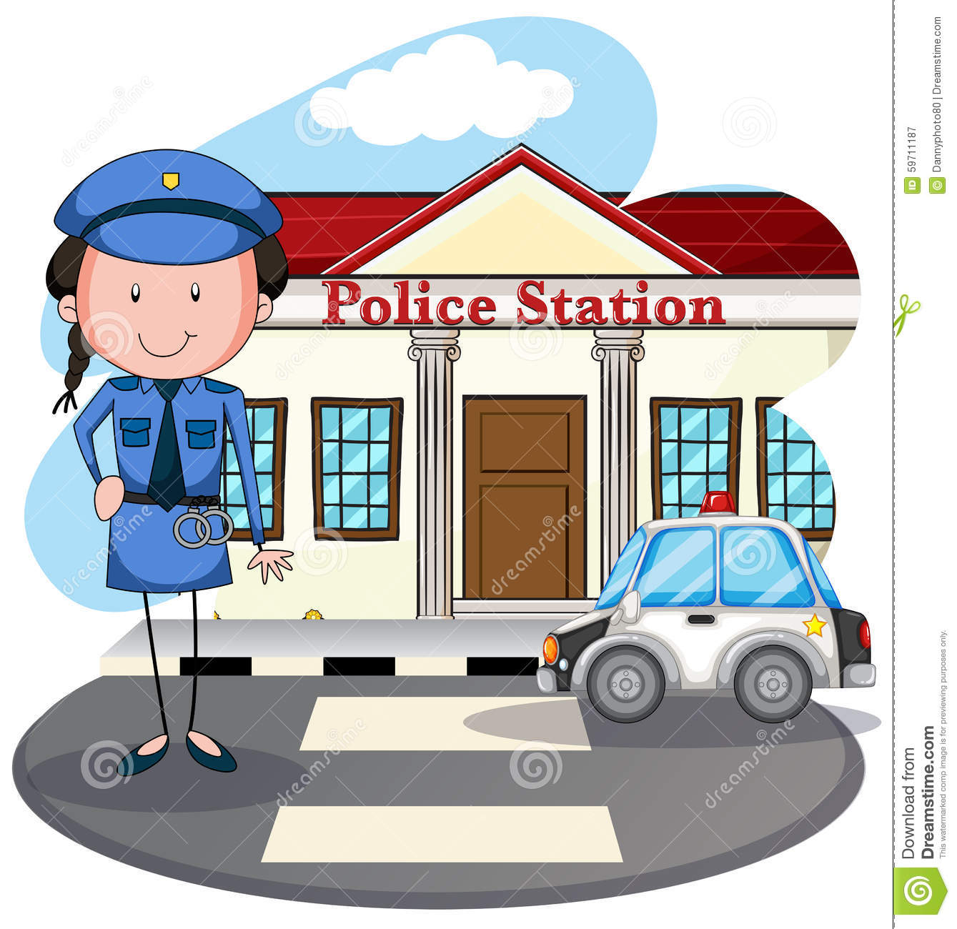Working of women police station in
