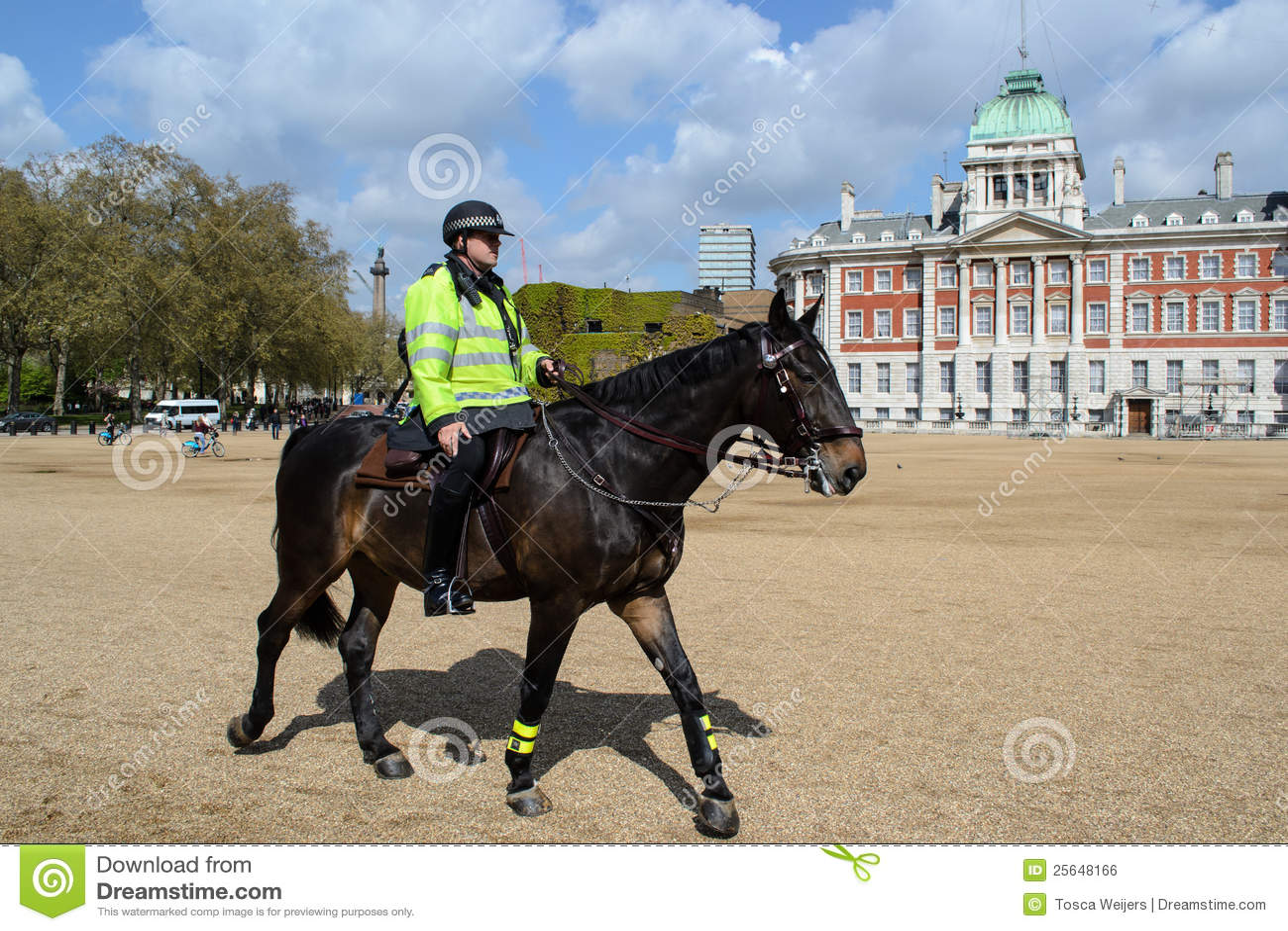 Policier britannique à cheval