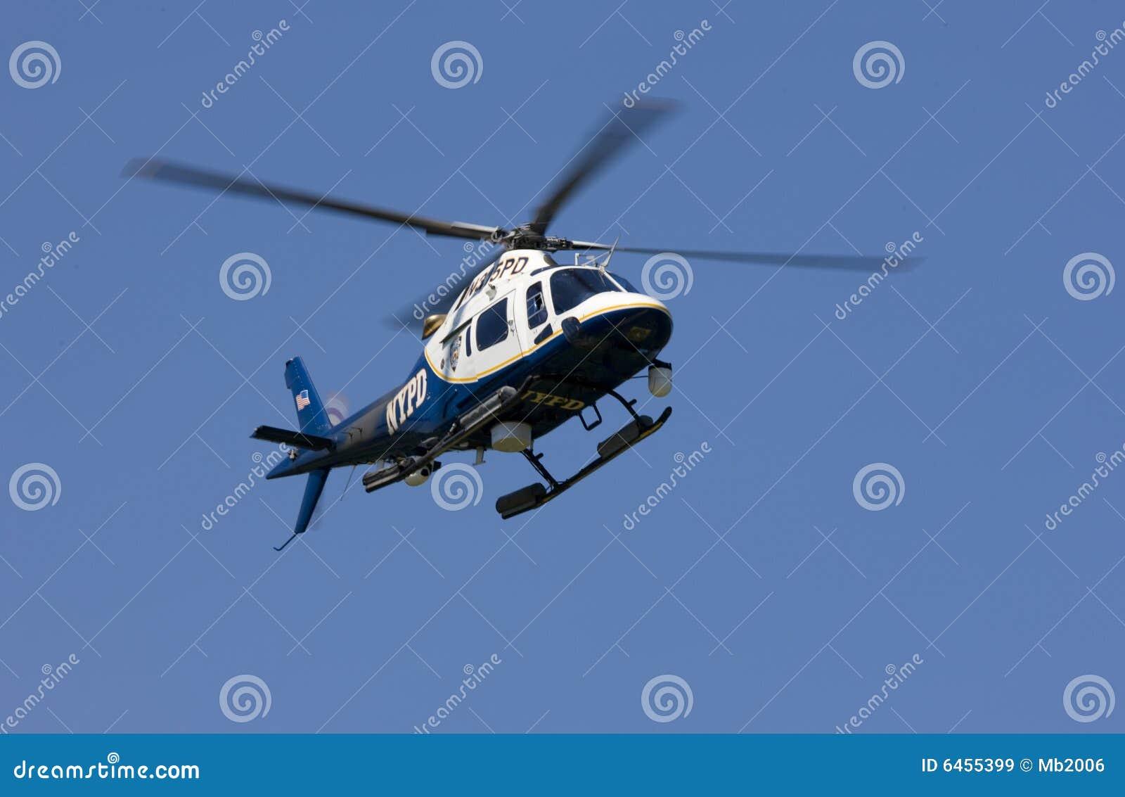 Policja helikoptera