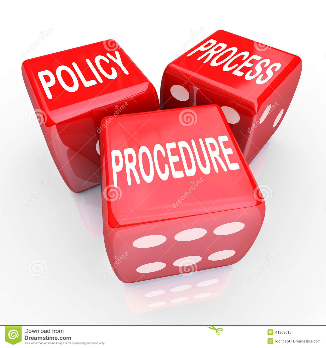 Policy Process Procedure 3 Red Dice Company Rules Practices – Company Policy
