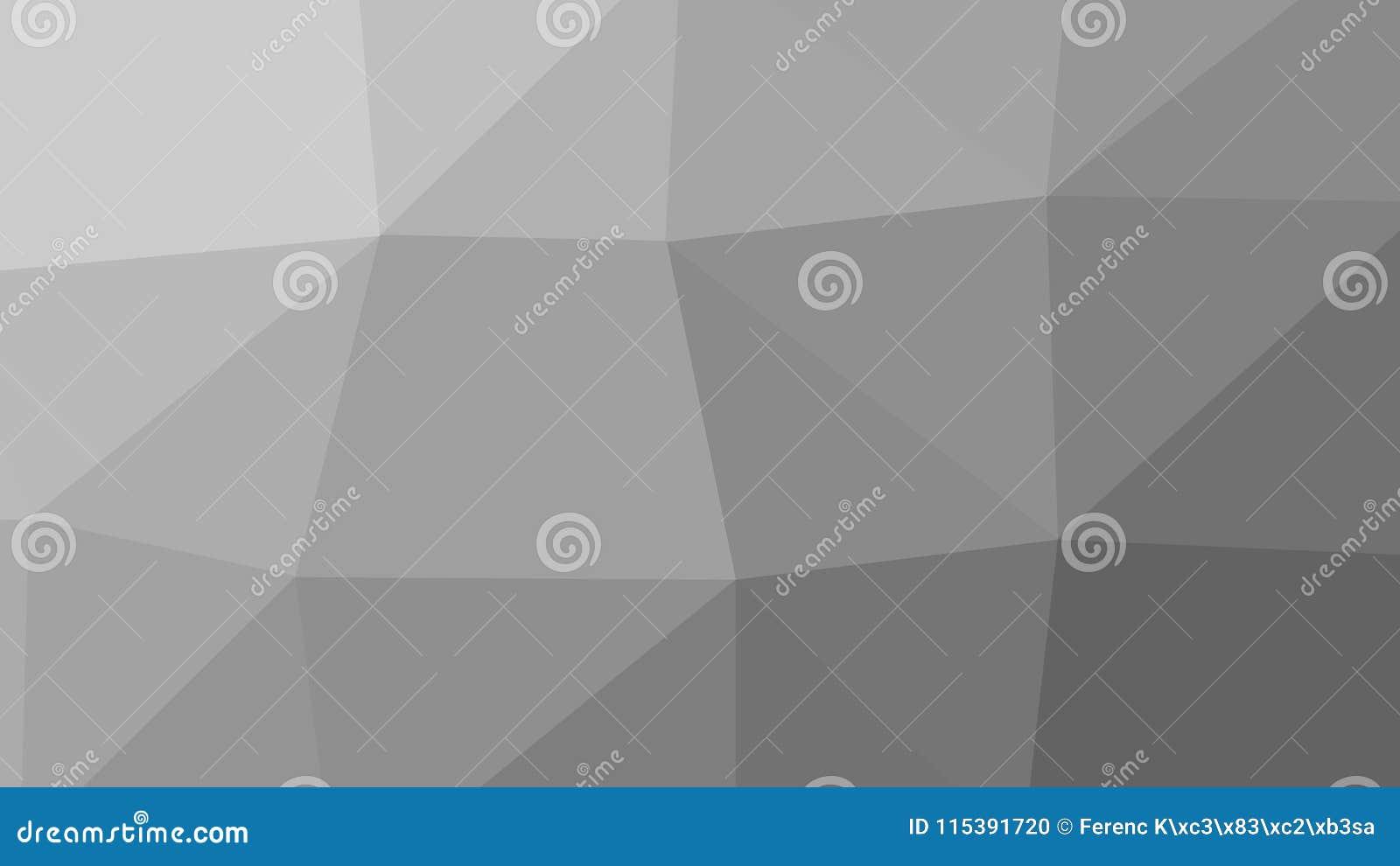 Poligono Grey Background del triangolo dell estratto 8K