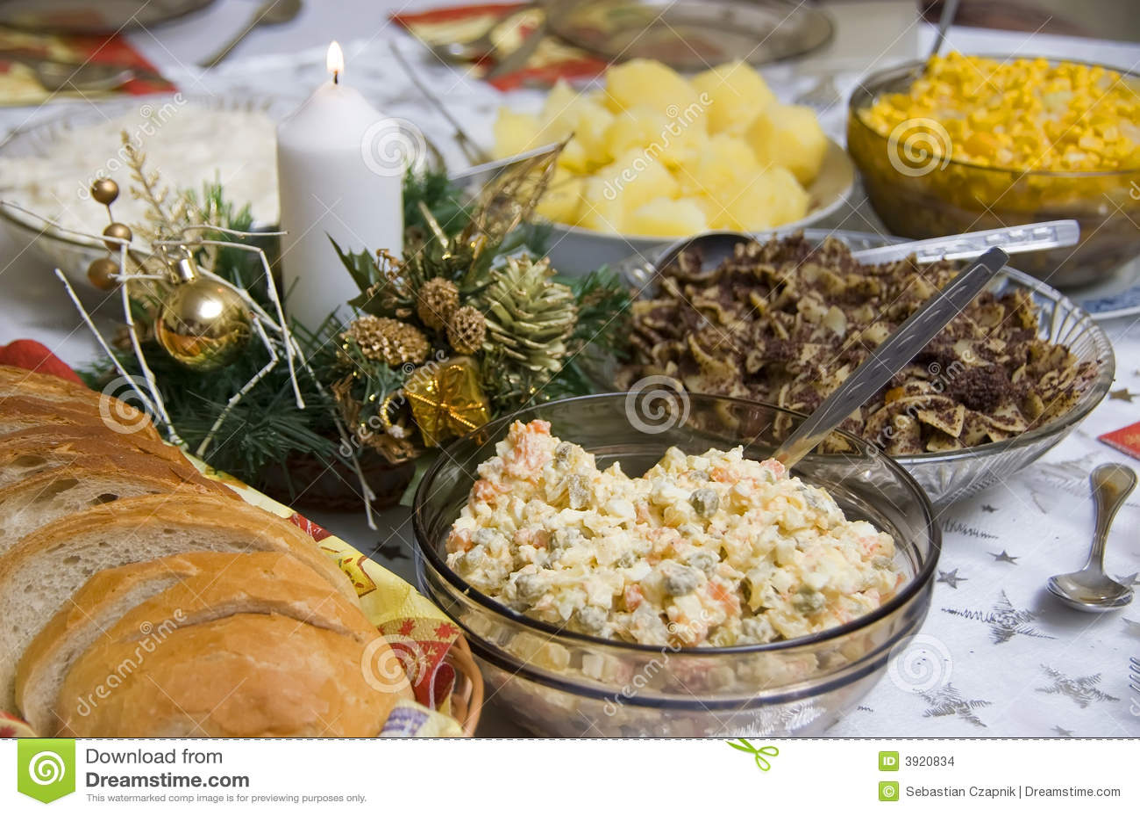 Polish Christmas table