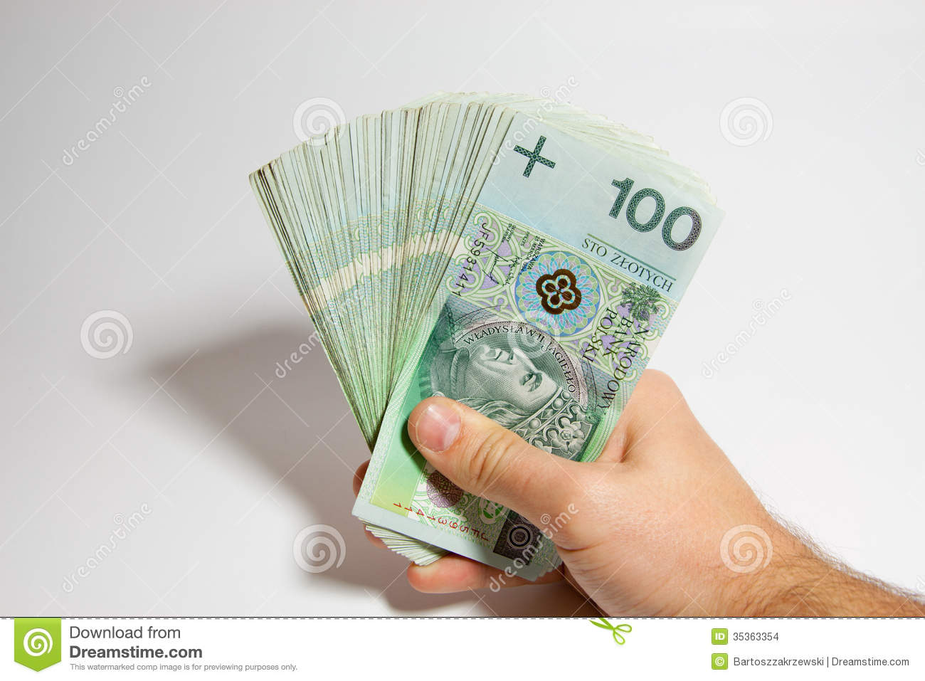 PLN: Polish Zloty Stock Images