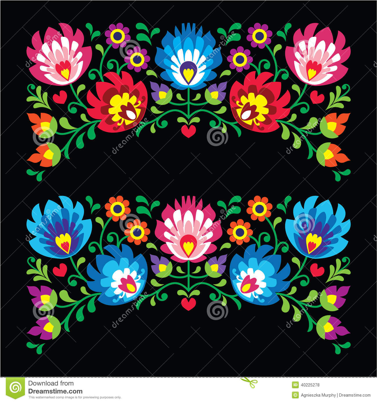 Mexican Embroidery Patterns Simple Decorating
