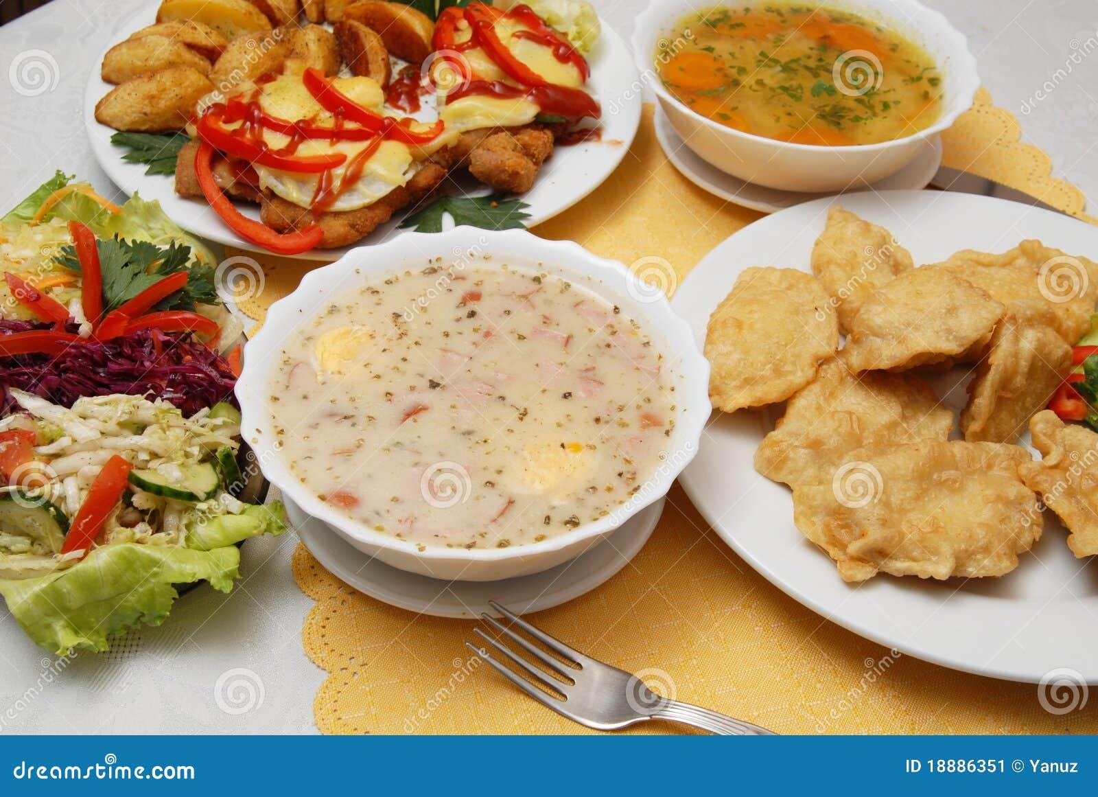 Polish Food Stock Image Image Of Sour Dine Thin Cook 18886351
