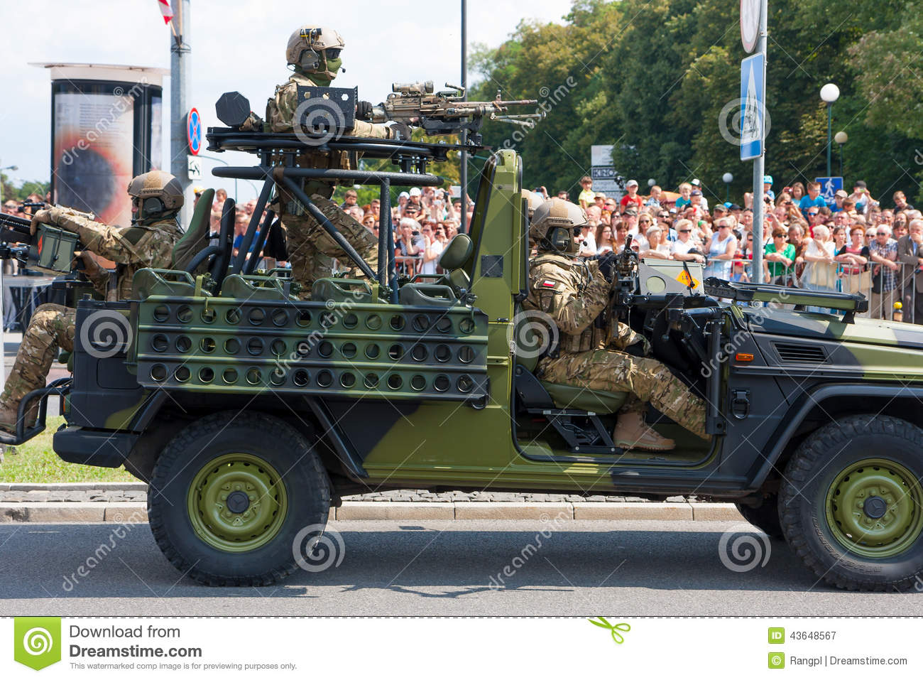 Polish GROM special forces editorial photography  Image of
