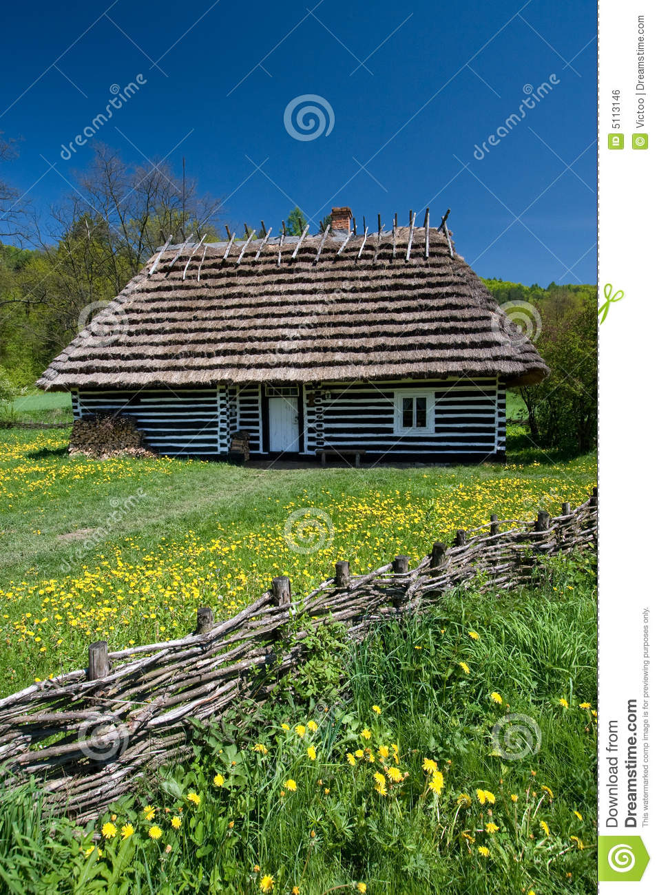 Polish House Royalty Free Stock Image Image 5113146