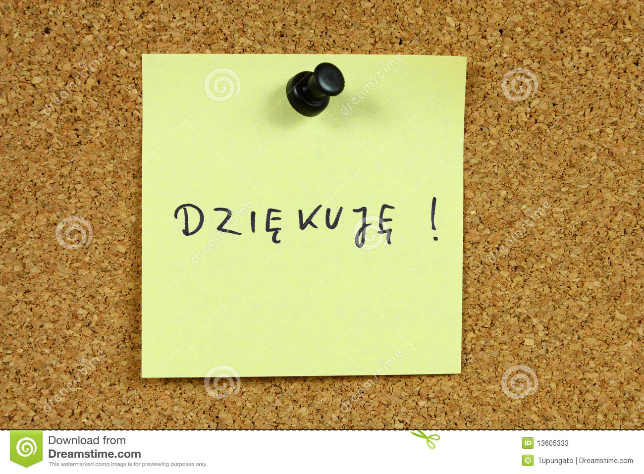 Polish Language Stock Image Image Of Post Handwriting