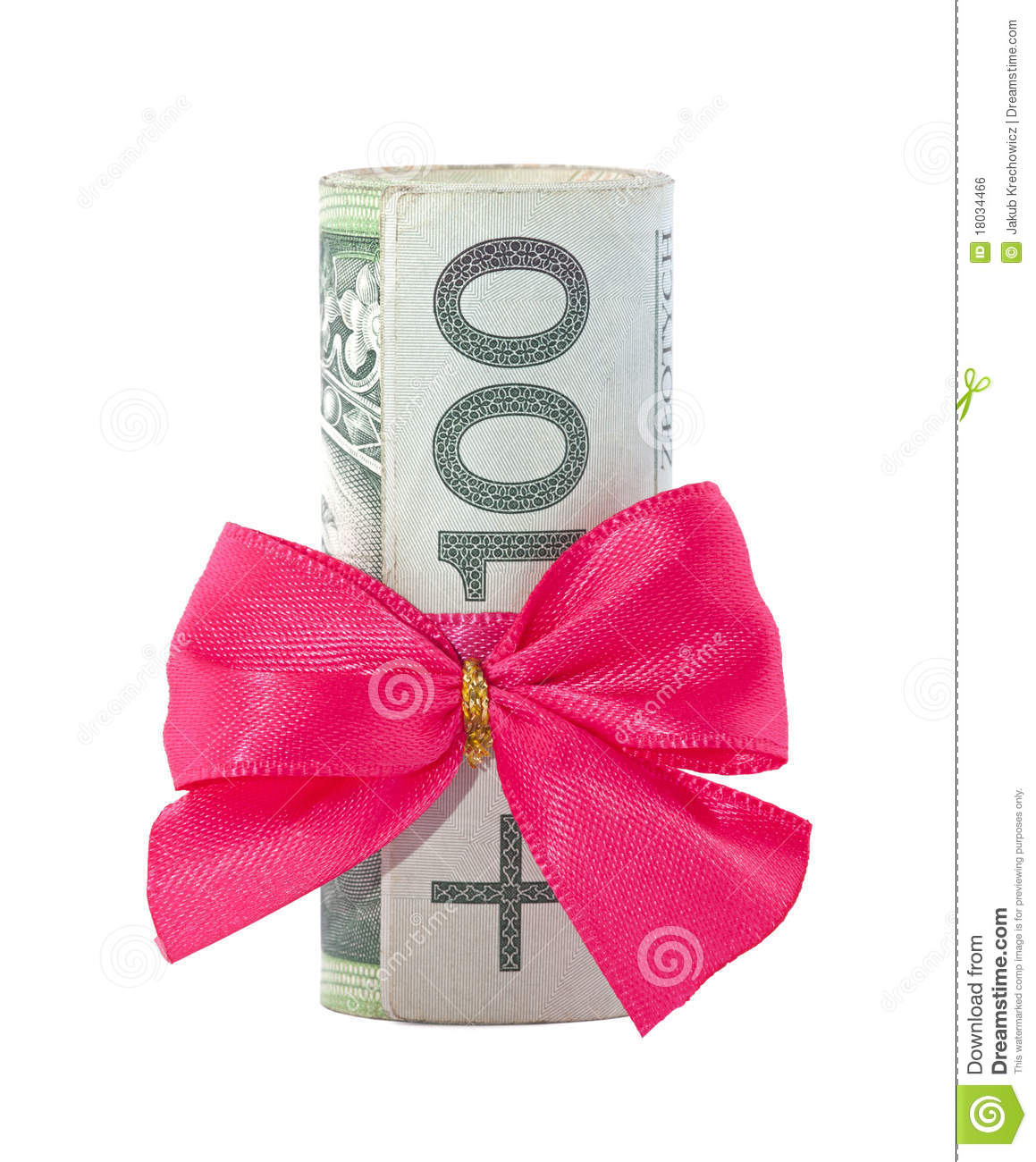 how to make a money roll for a gift