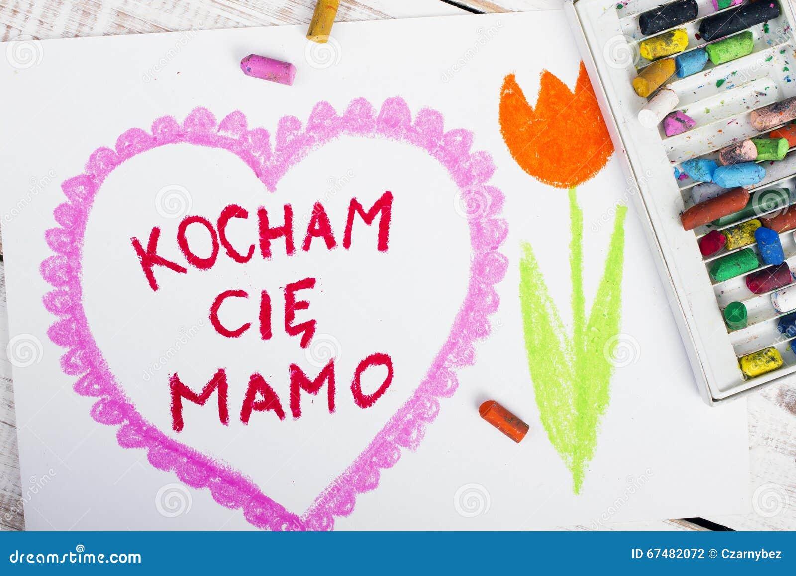 Polish mothers day card stock photo image of greeting 67482072 polish mothers day card kristyandbryce Choice Image