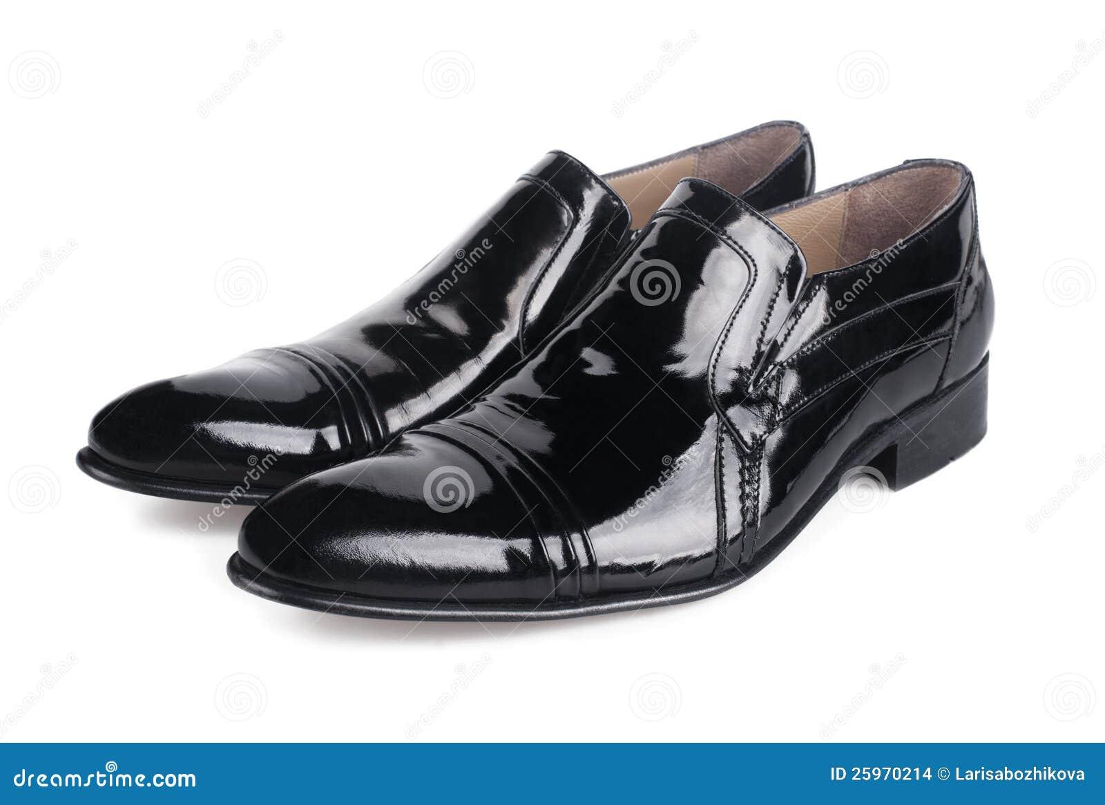 Polished Black Mens Shoes Stock Images - Image: 25970214