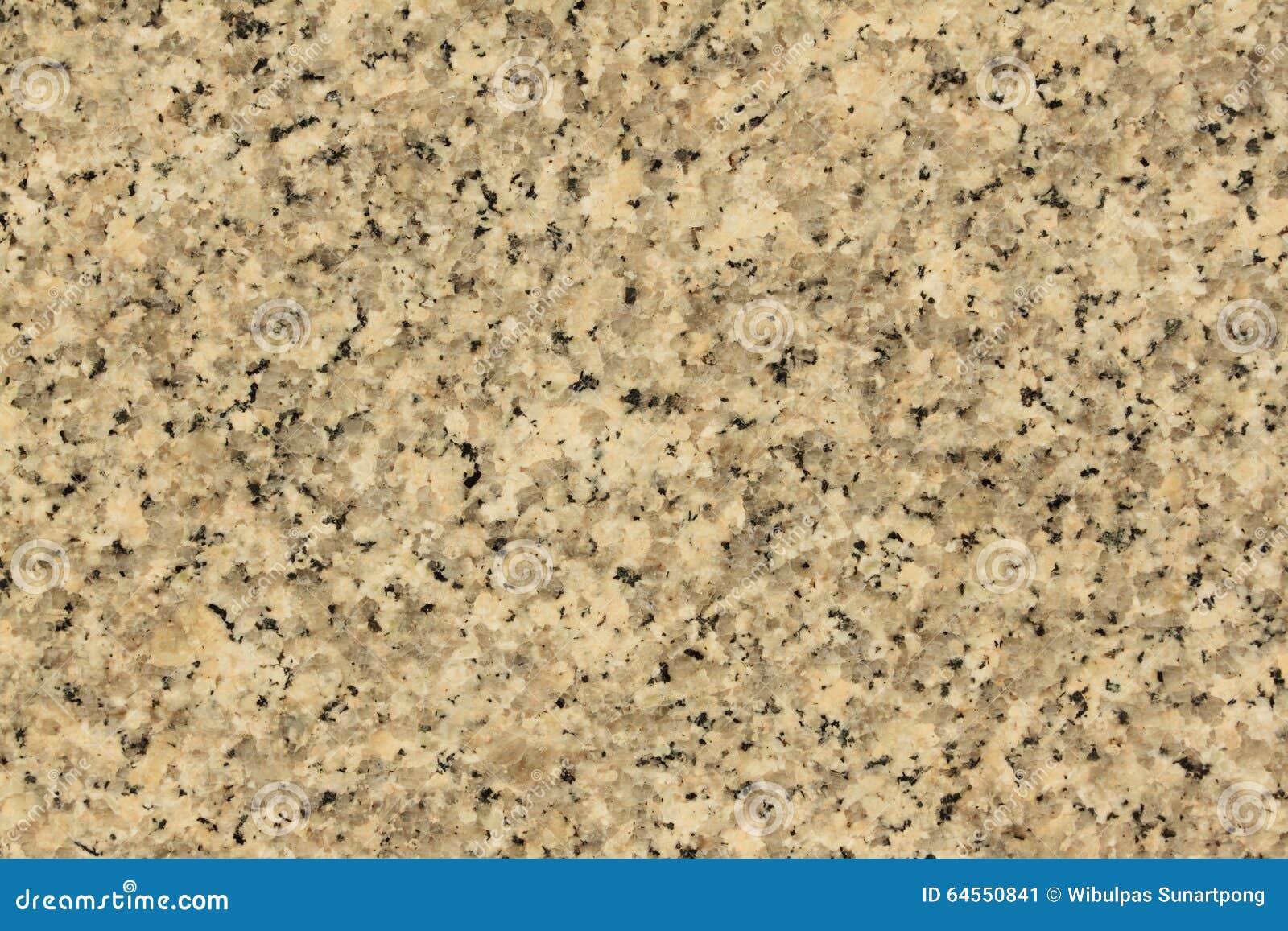 Polished Granite Stone Floor Grain Texture Close Up Stock