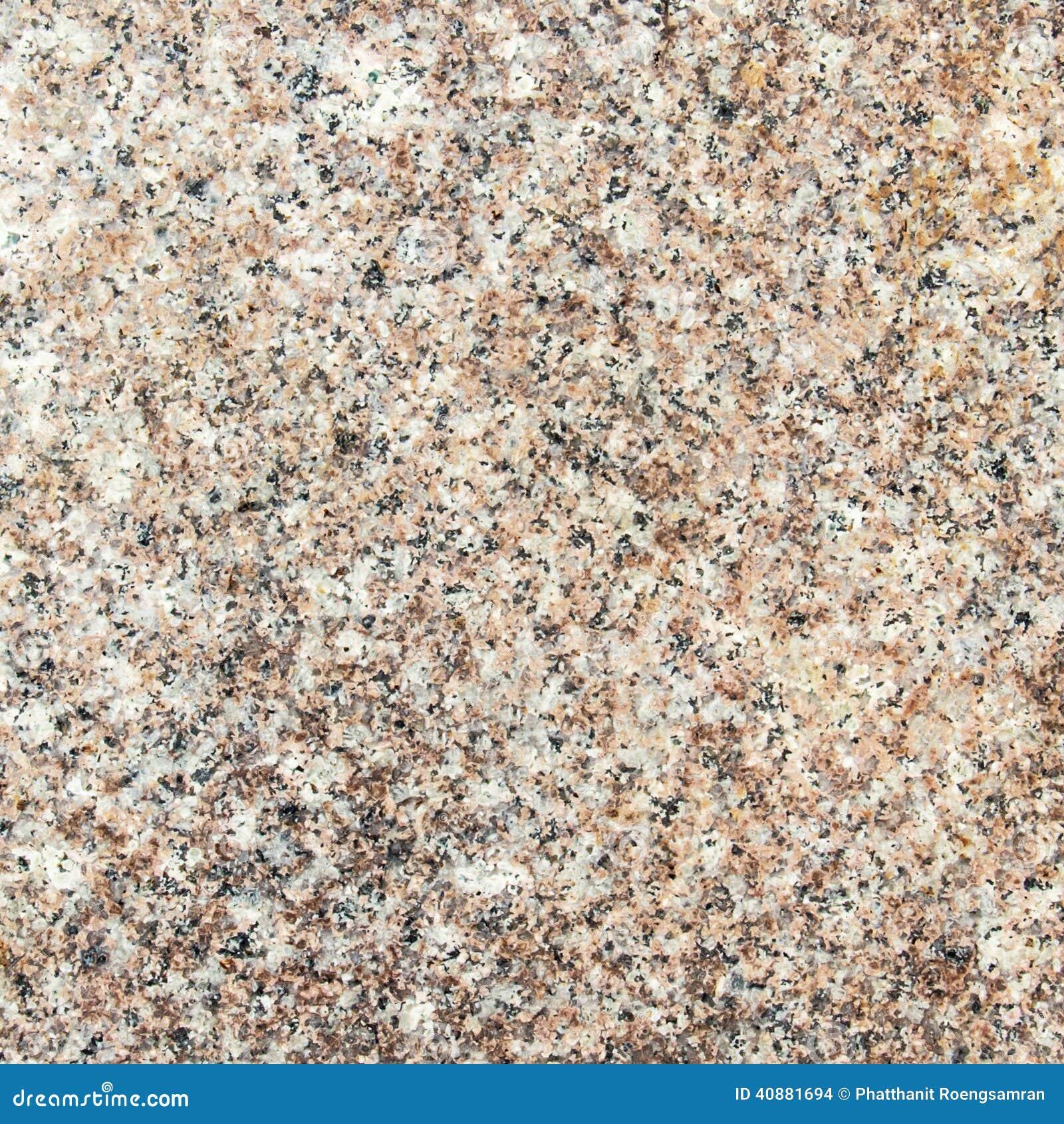 White Granite Background : Polished white and brown grain granite as background stock