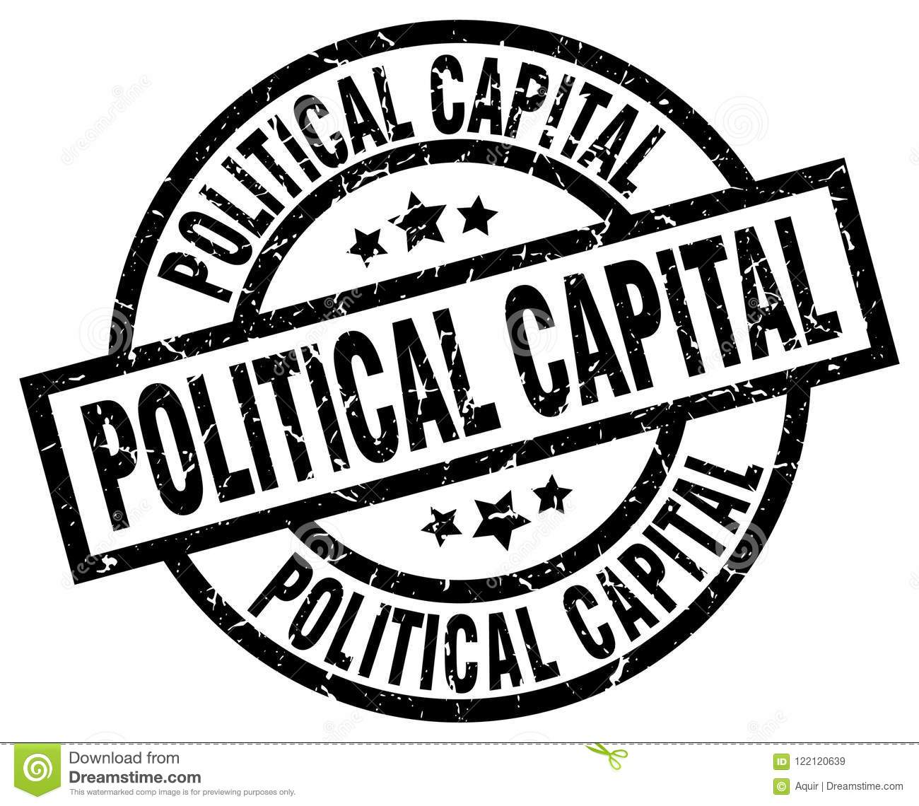 Political Capital Stamp Stock Vector Illustration Of