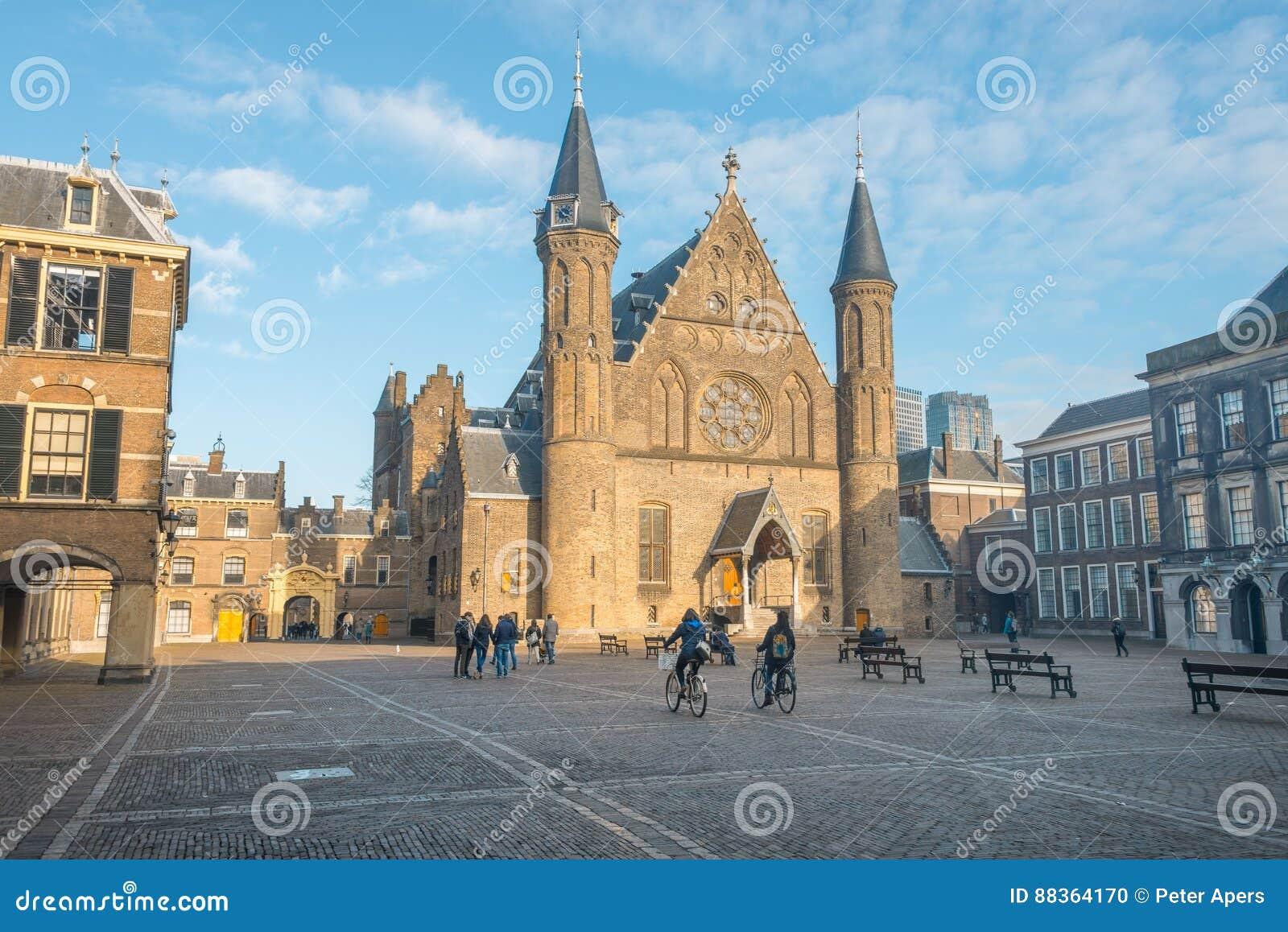 Binnenhof, political center the Netherlands
