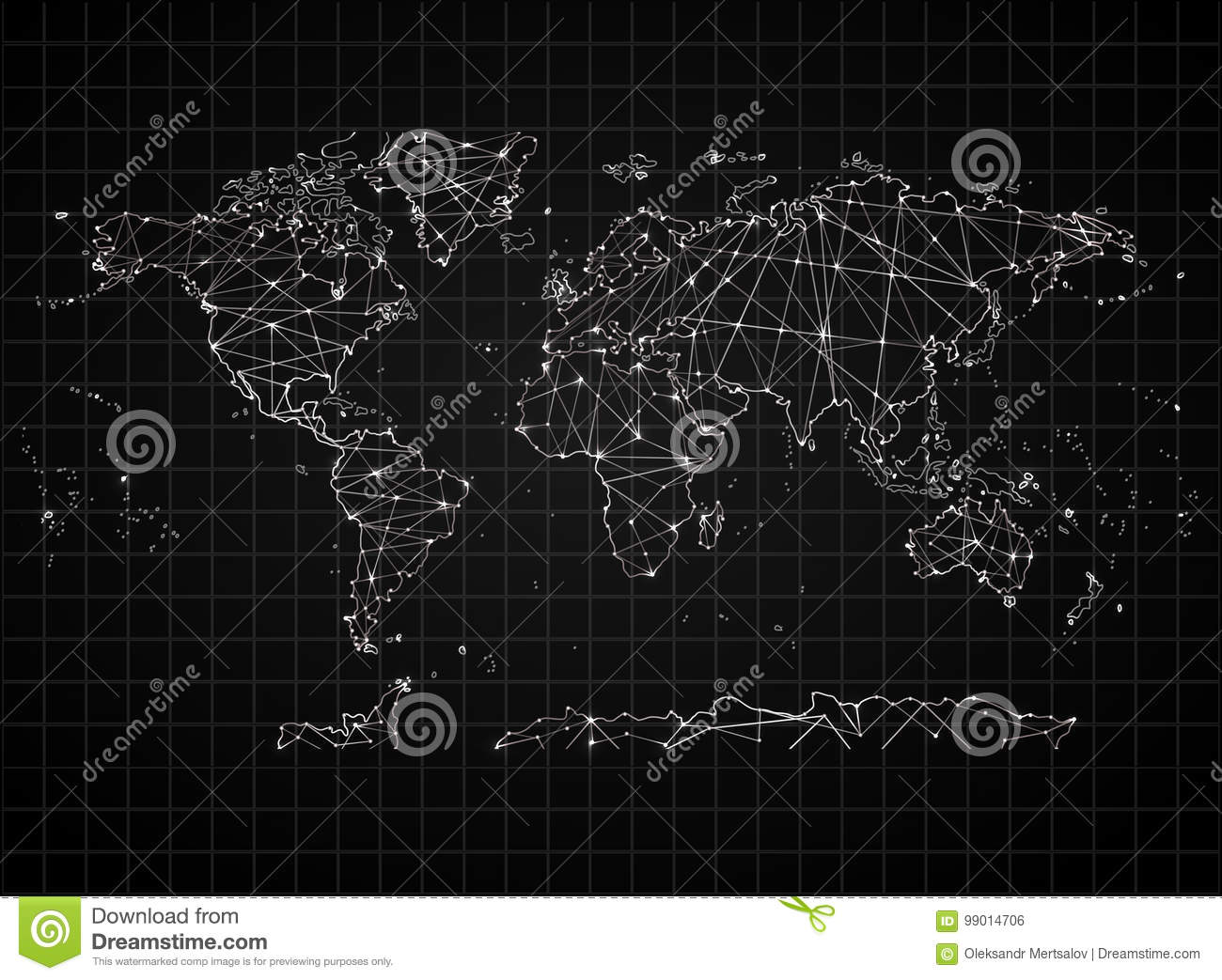 Political Map Of The World High Detail World Map All Elements Are
