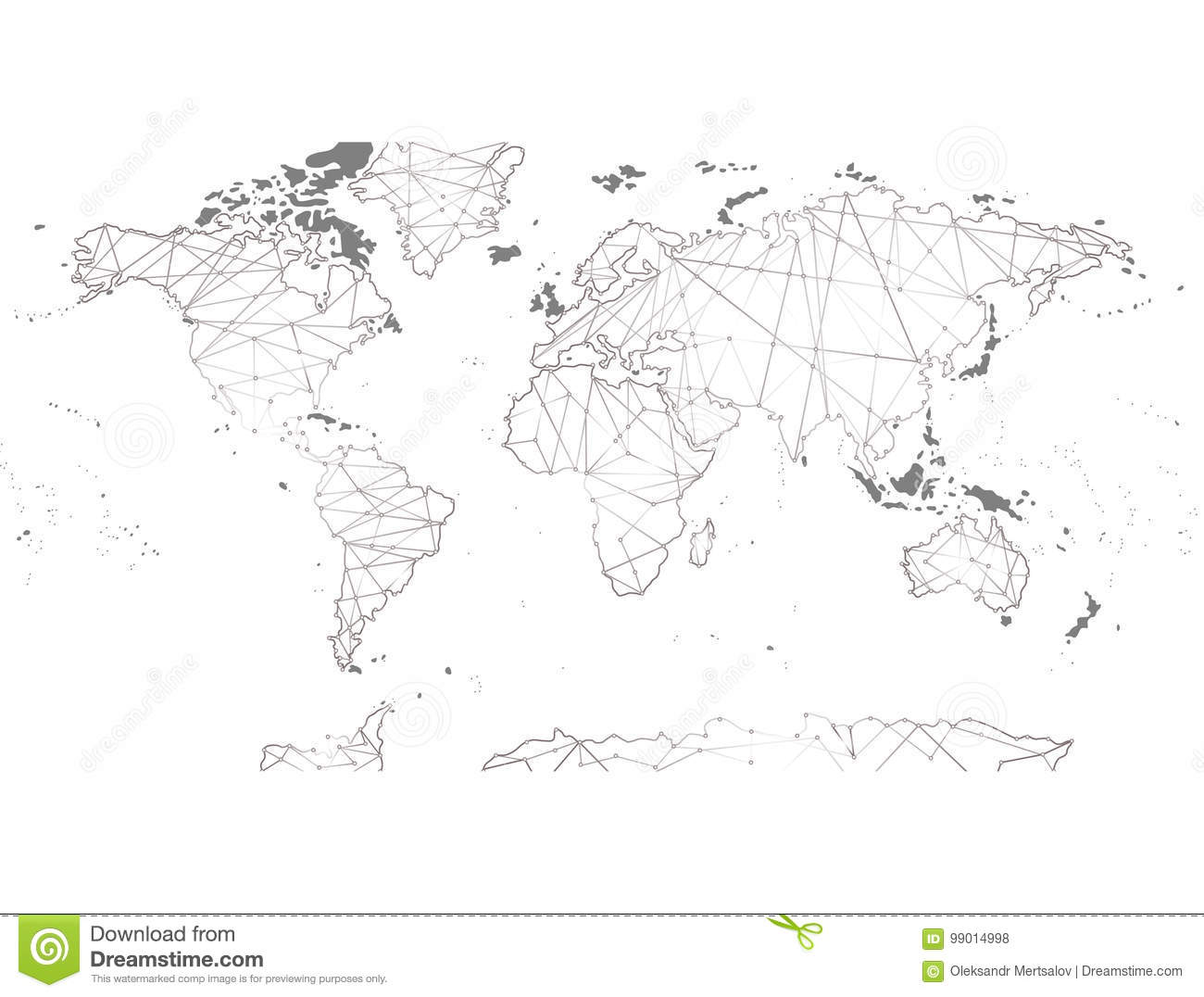 Political map of the world high detail world map all elements are download political map of the world high detail world map all elements are separated gumiabroncs Choice Image