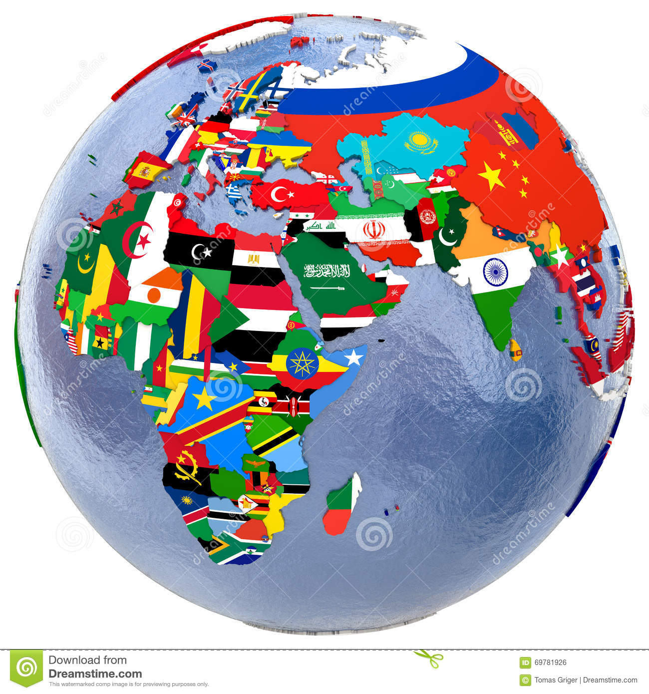 Political world map stock illustration illustration of region political world map gumiabroncs Image collections