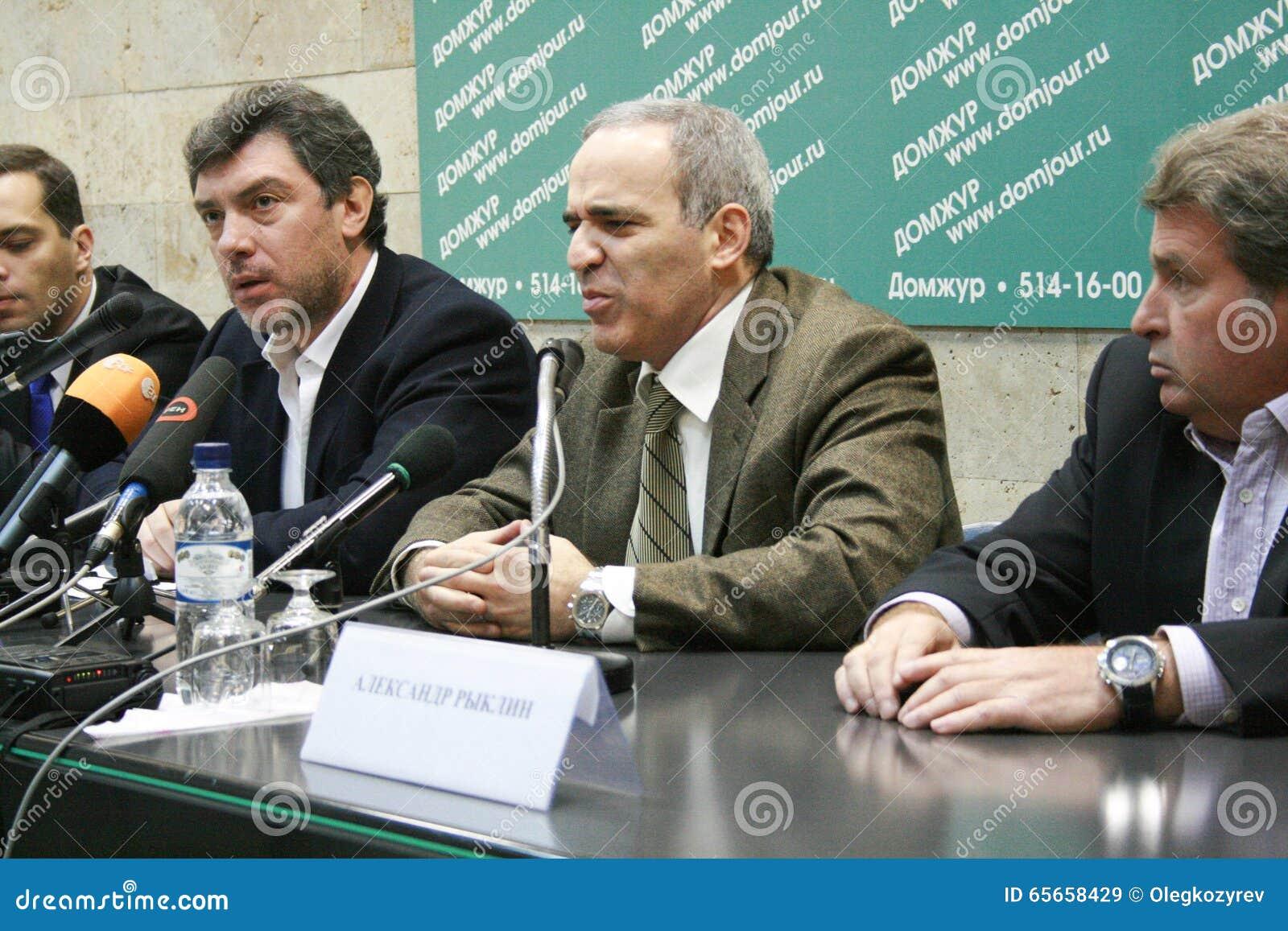Kasparov politics
