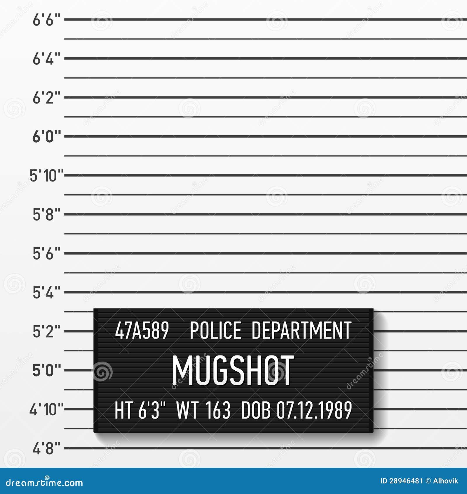 Politie mugshot