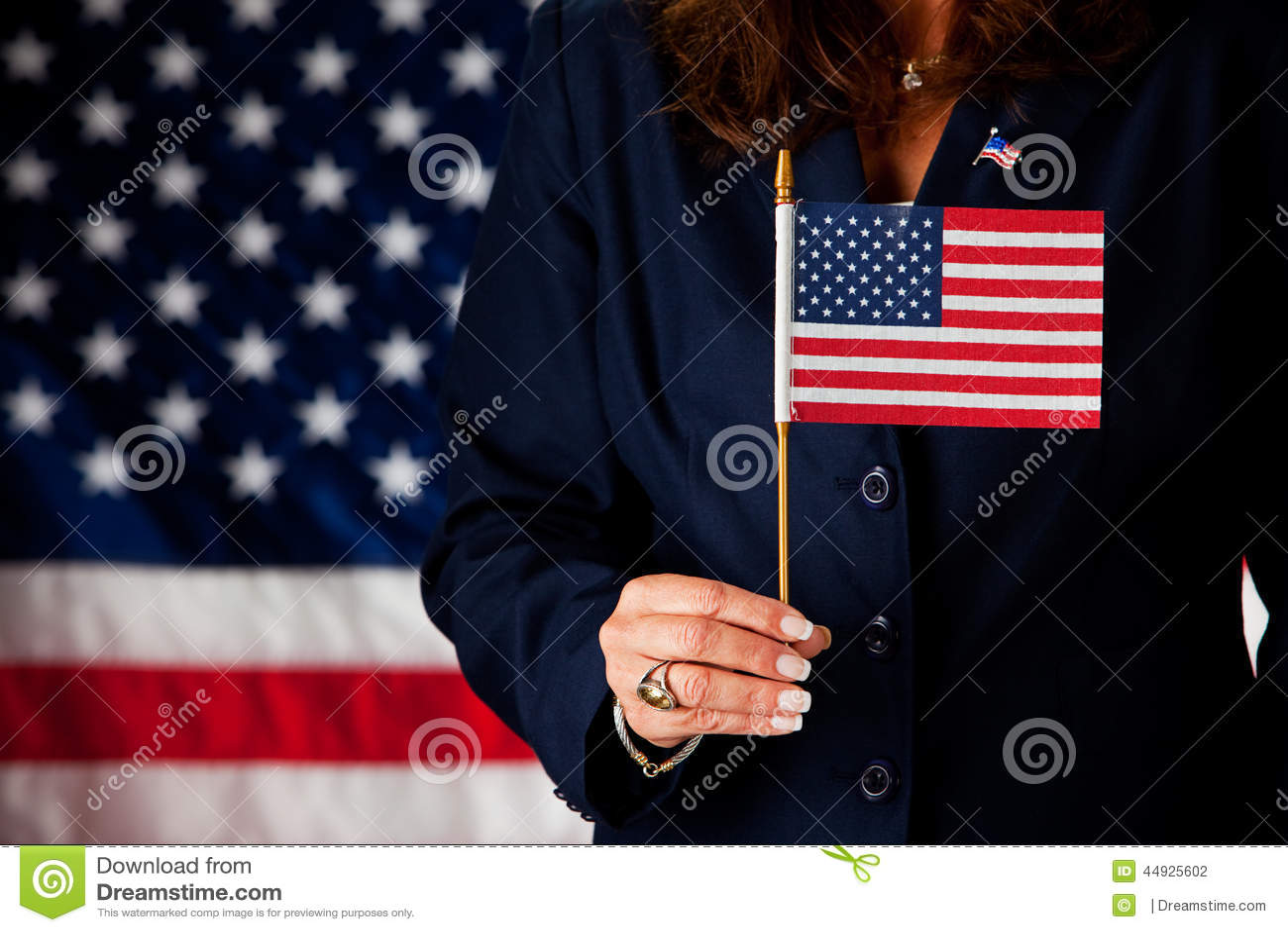 Polityk: Trzymać Małą USA flaga