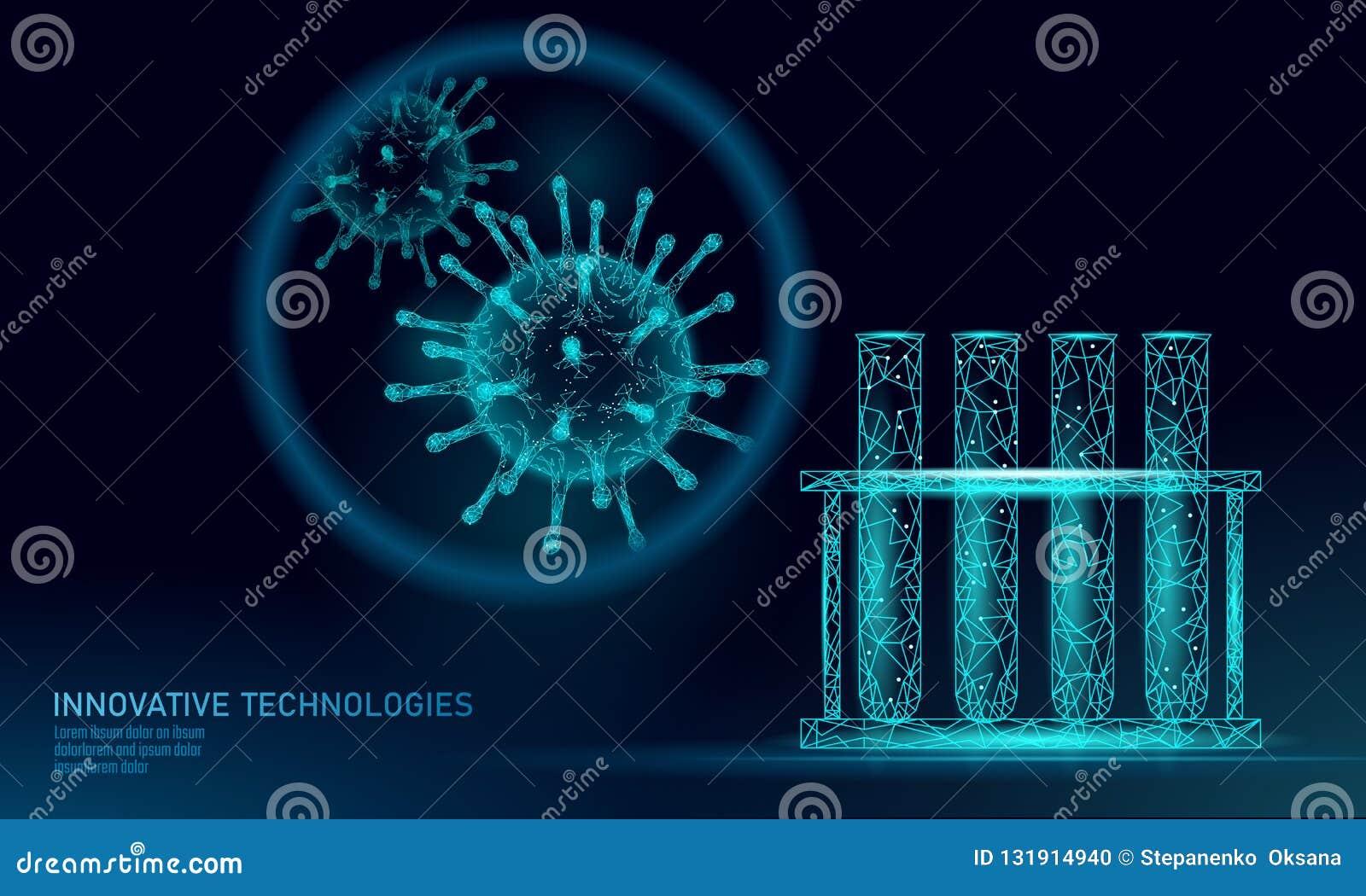 Polivinílicos bajos del virus 3D del tubo de ensayo rinden Gripe de la gripe del virus de hepatitis de la enfermedad crónica de l