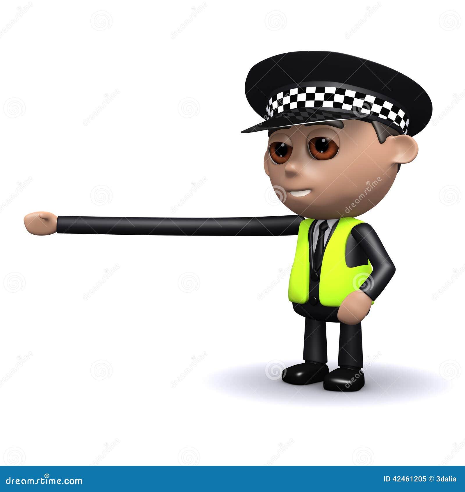 Polizeibeamte 3d erreicht heraus