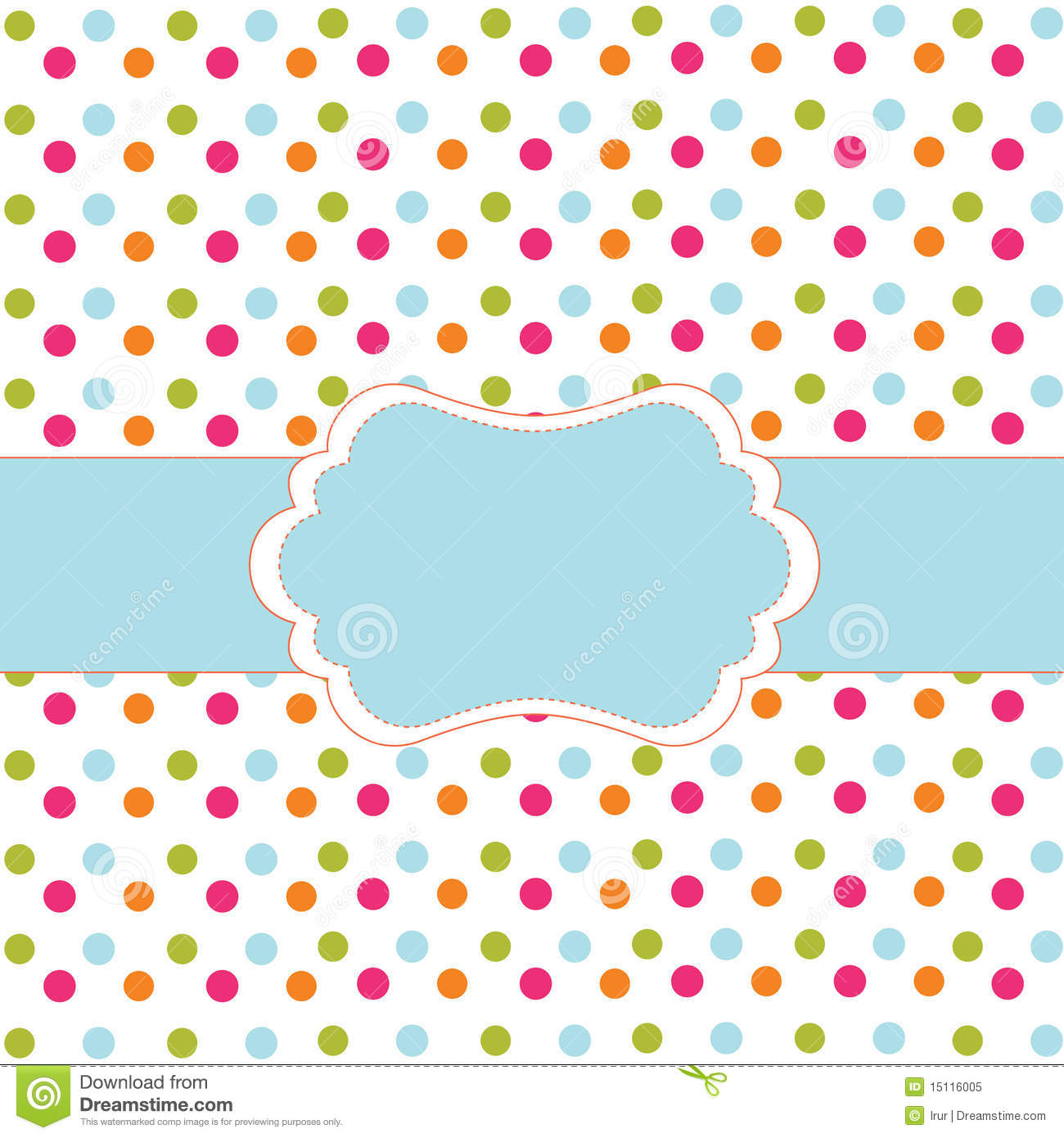 Polka Dot Design Royalty Free Stock Photo - Image: 15116005